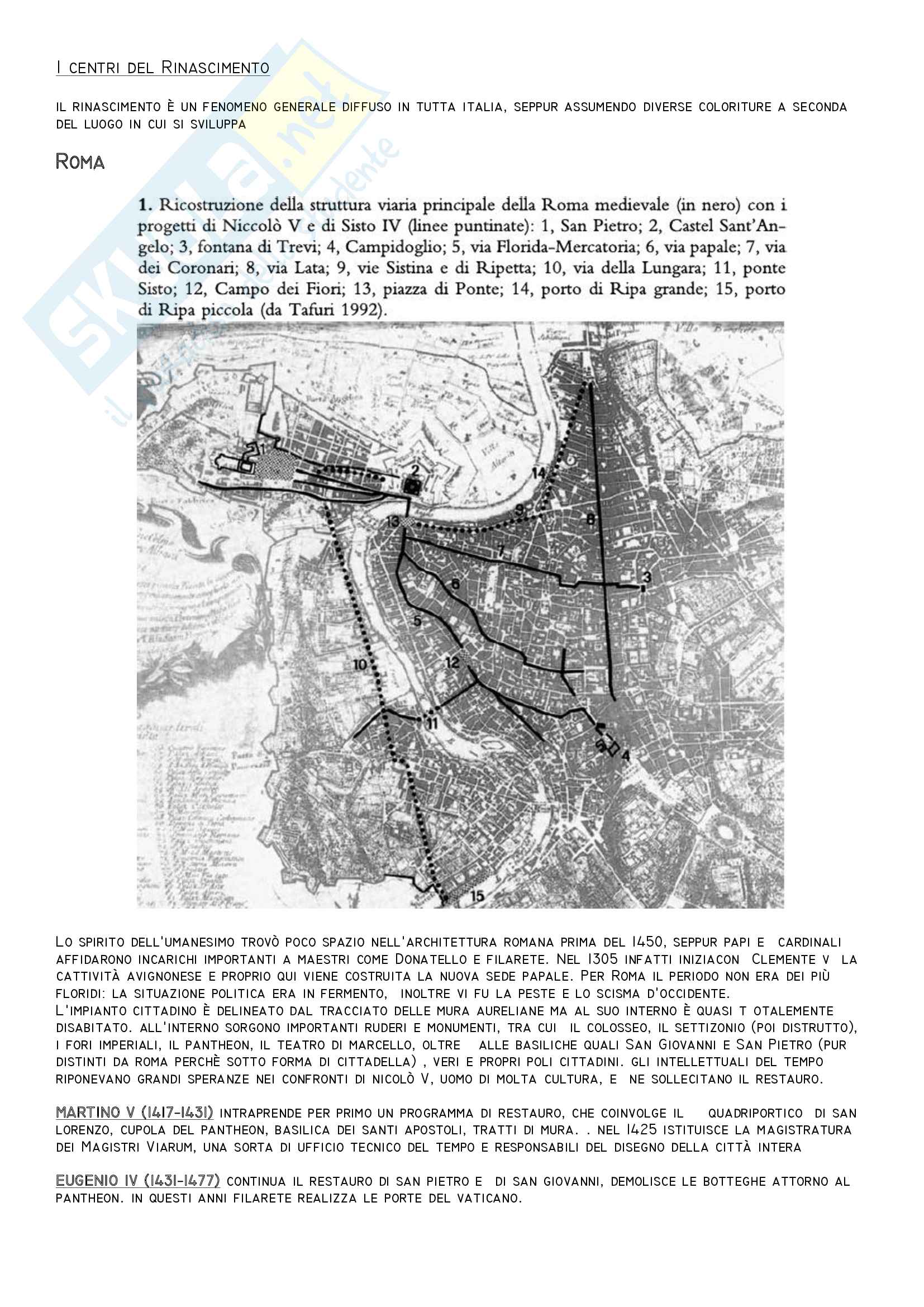 Storia dell'Architettura dal 1400 al 1600 Pag. 16