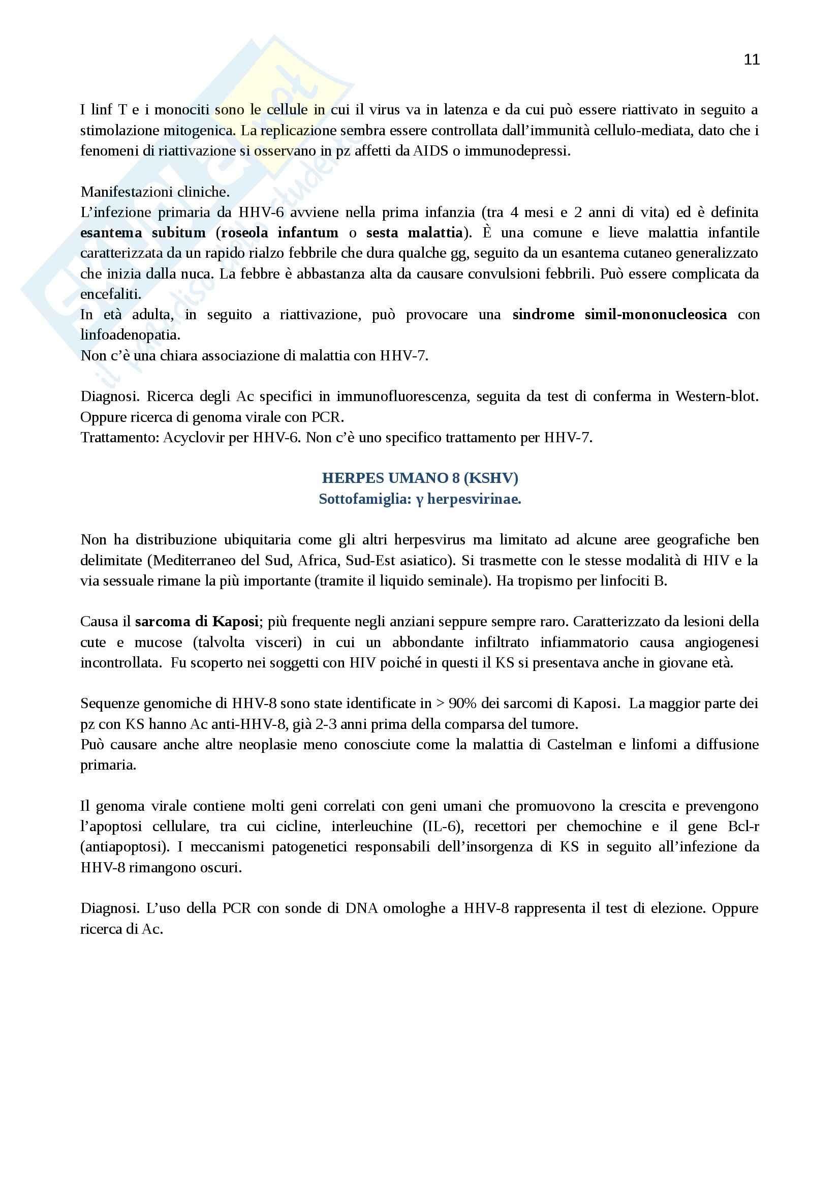 Lezioni, Virologia Pag. 11