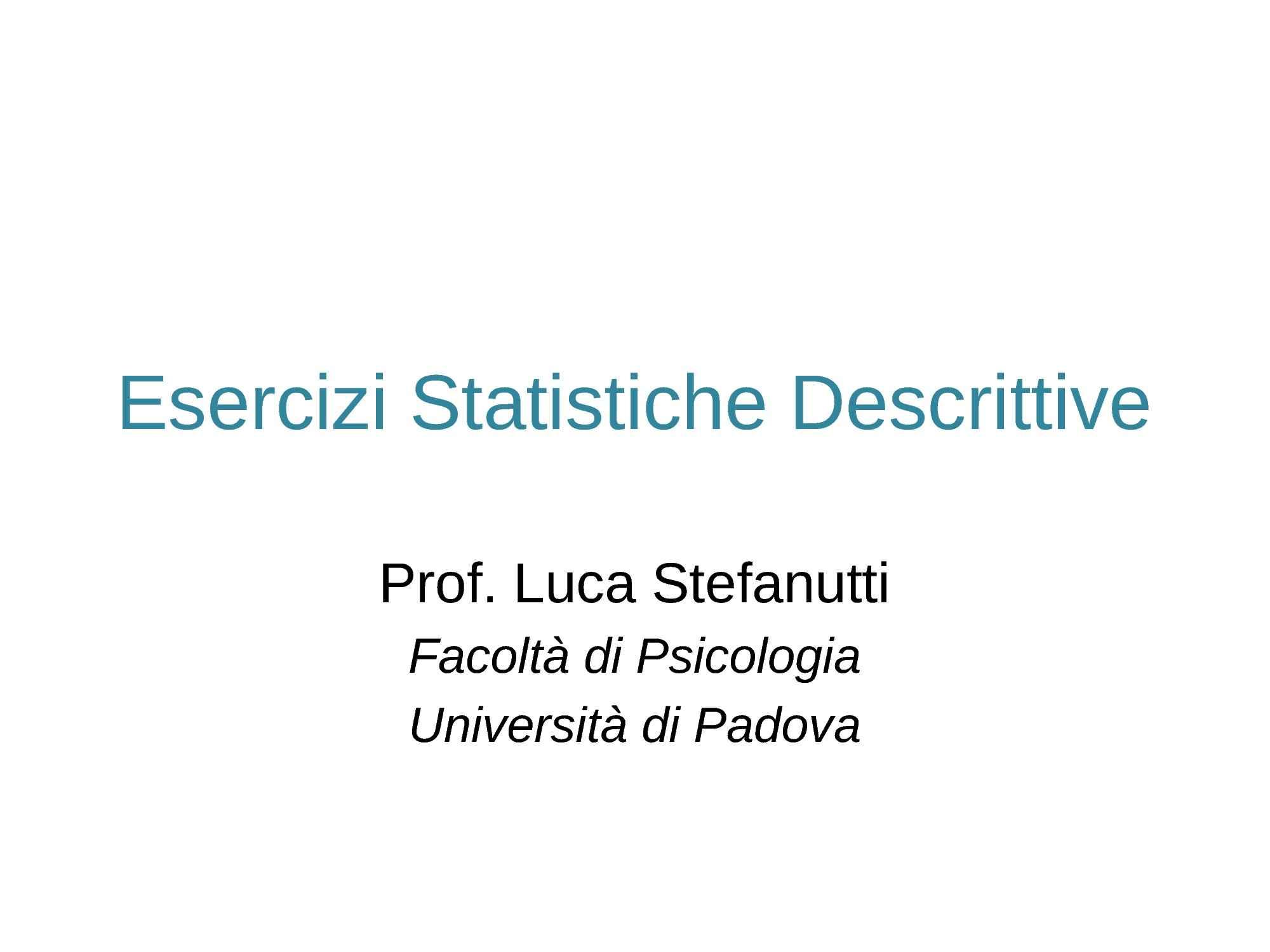 dispensa L. Stefanutti Psicometria