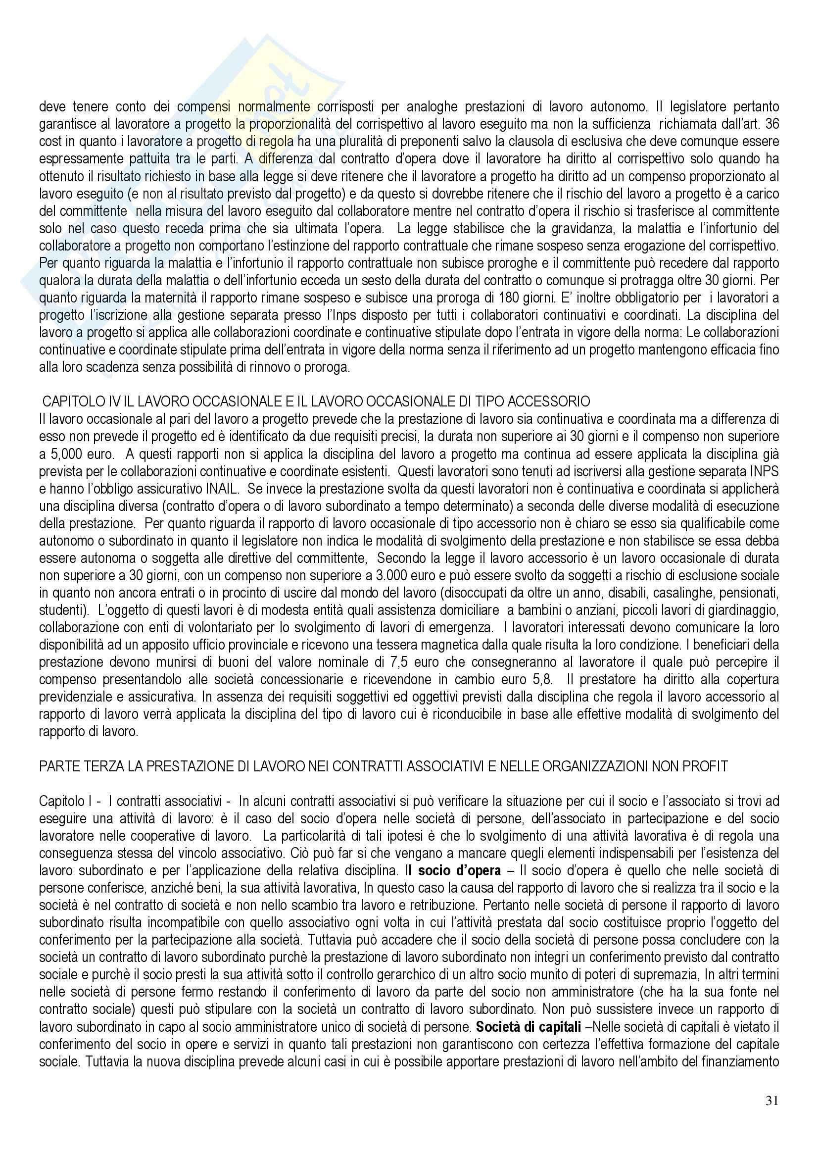 Riassunto esame Diritto del Lavoro, prof. Santoro-Passarelli, libro consigliato Diritto dei Lavori, Santoro Passarelli Pag. 31