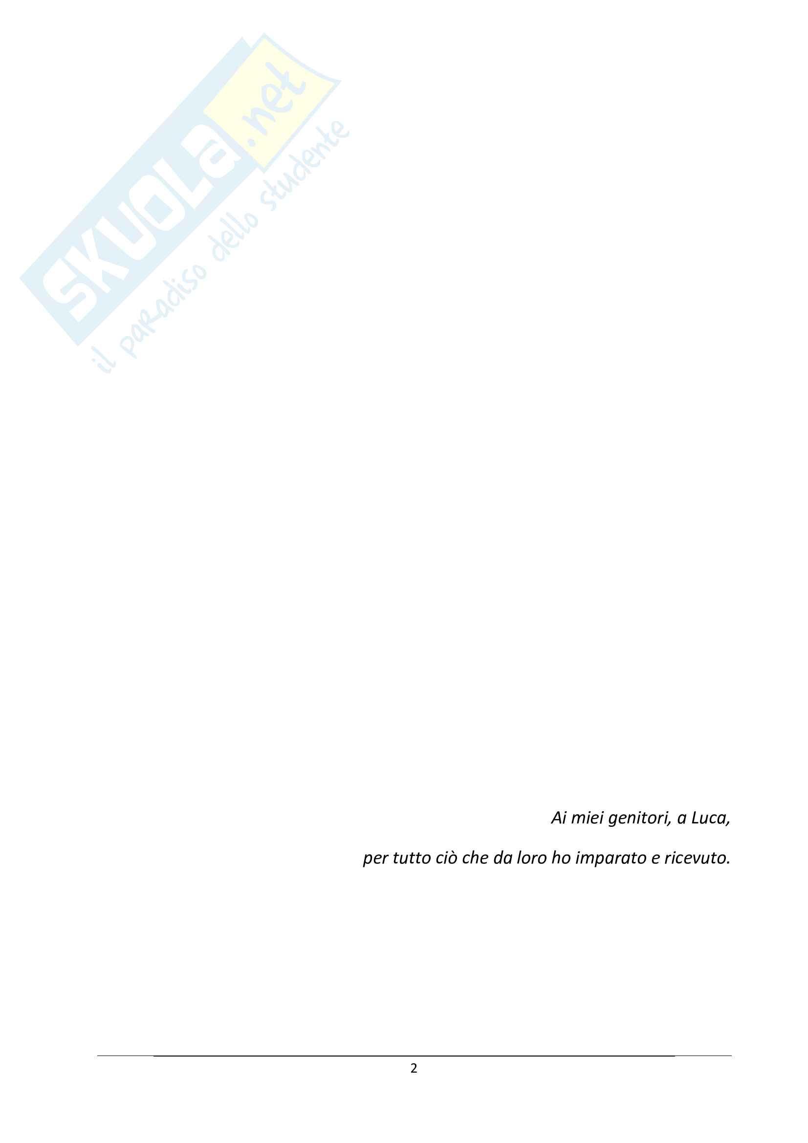 Tesi - Le problematiche connesse con l'internazionalizzazione: il caso Luxottica Pag. 2