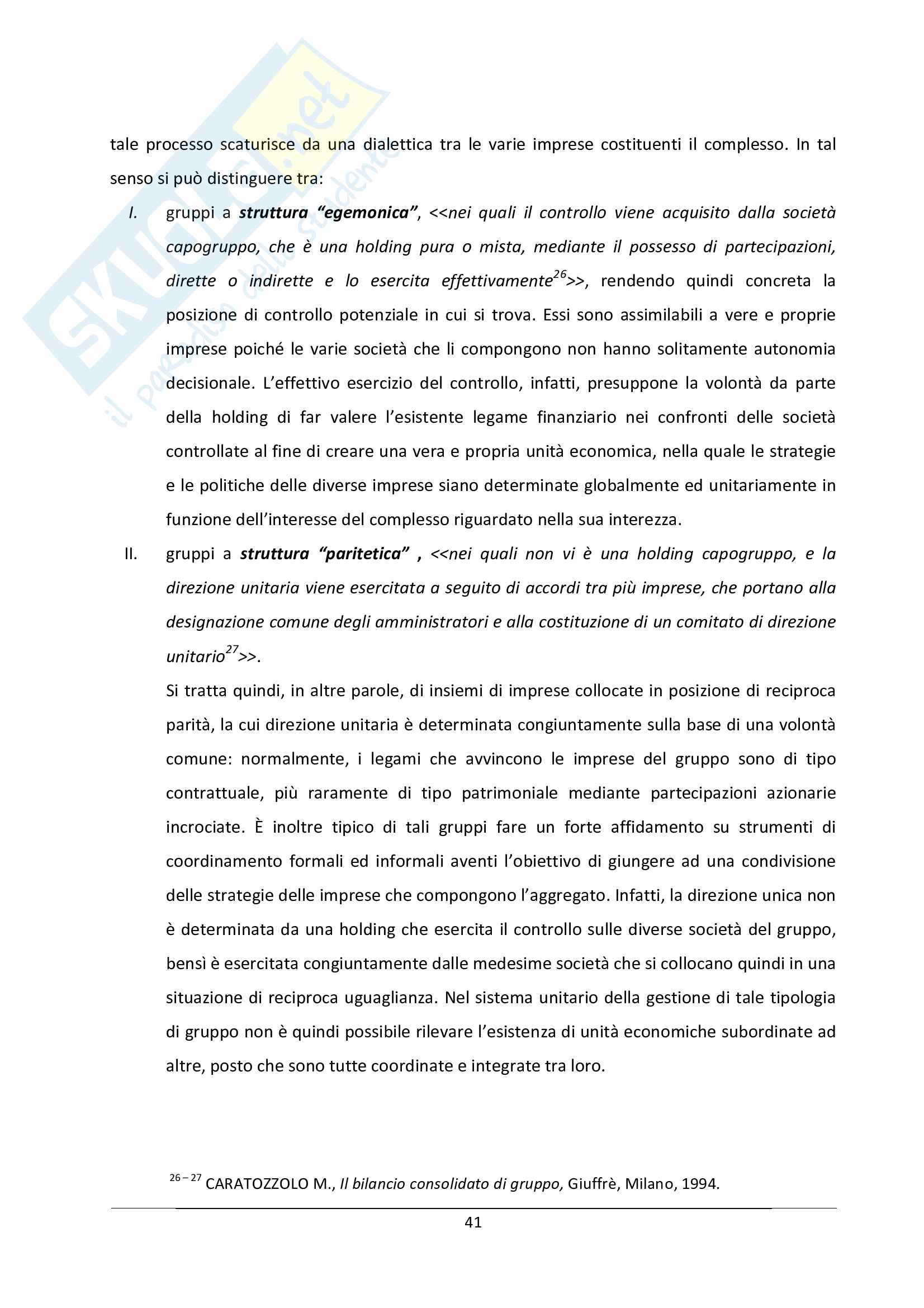Tesi - Le problematiche connesse con l'internazionalizzazione: il caso Luxottica Pag. 41