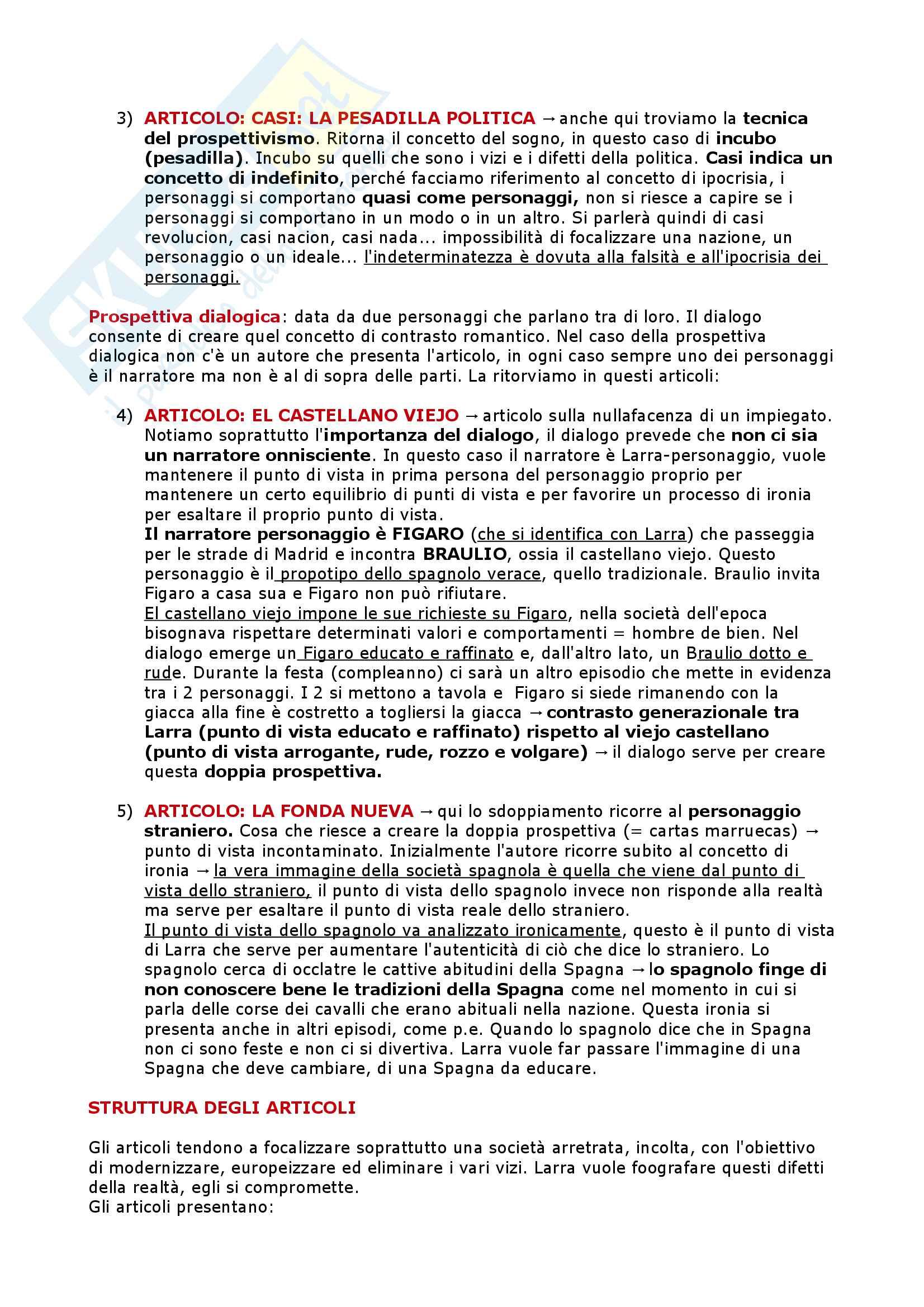 Il Settecento, l'Ottocento, il Novecento - Letteratura Spagnola II Pag. 51