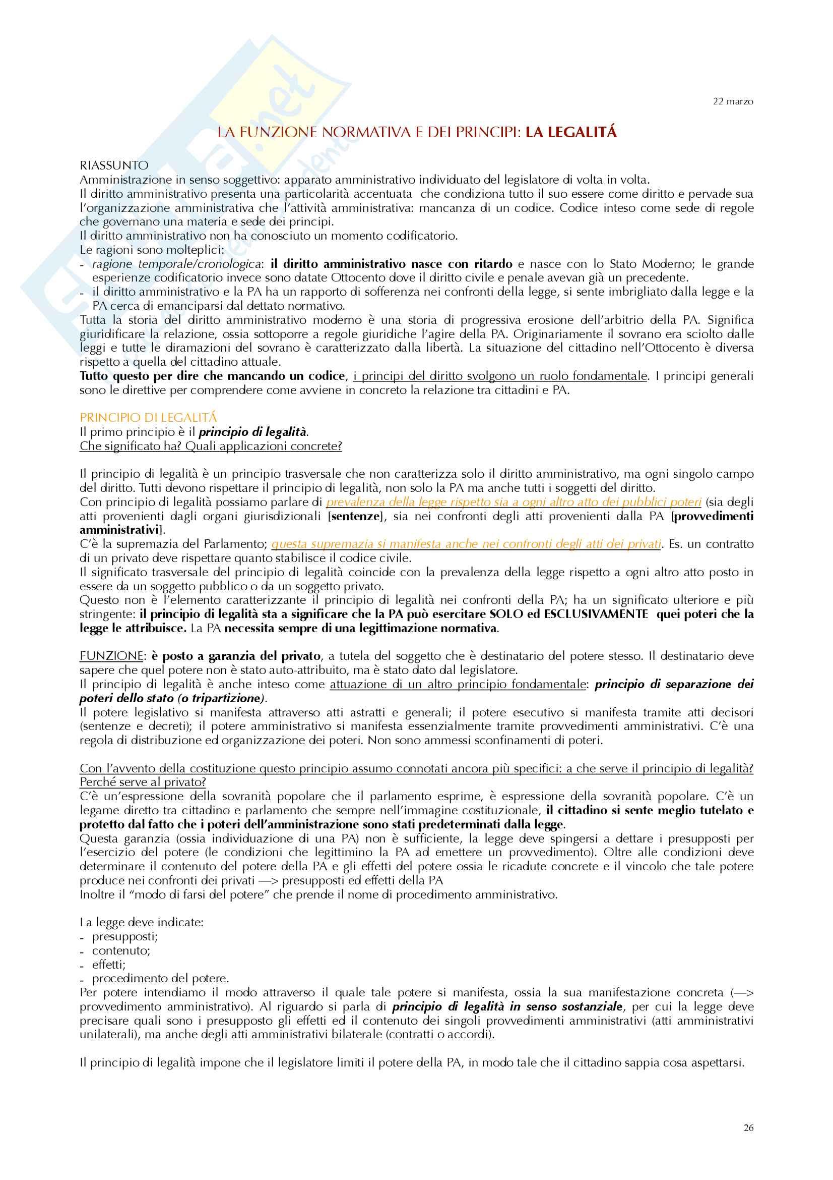 Appunti diritto amministrativo prof Ramajoli Pag. 26