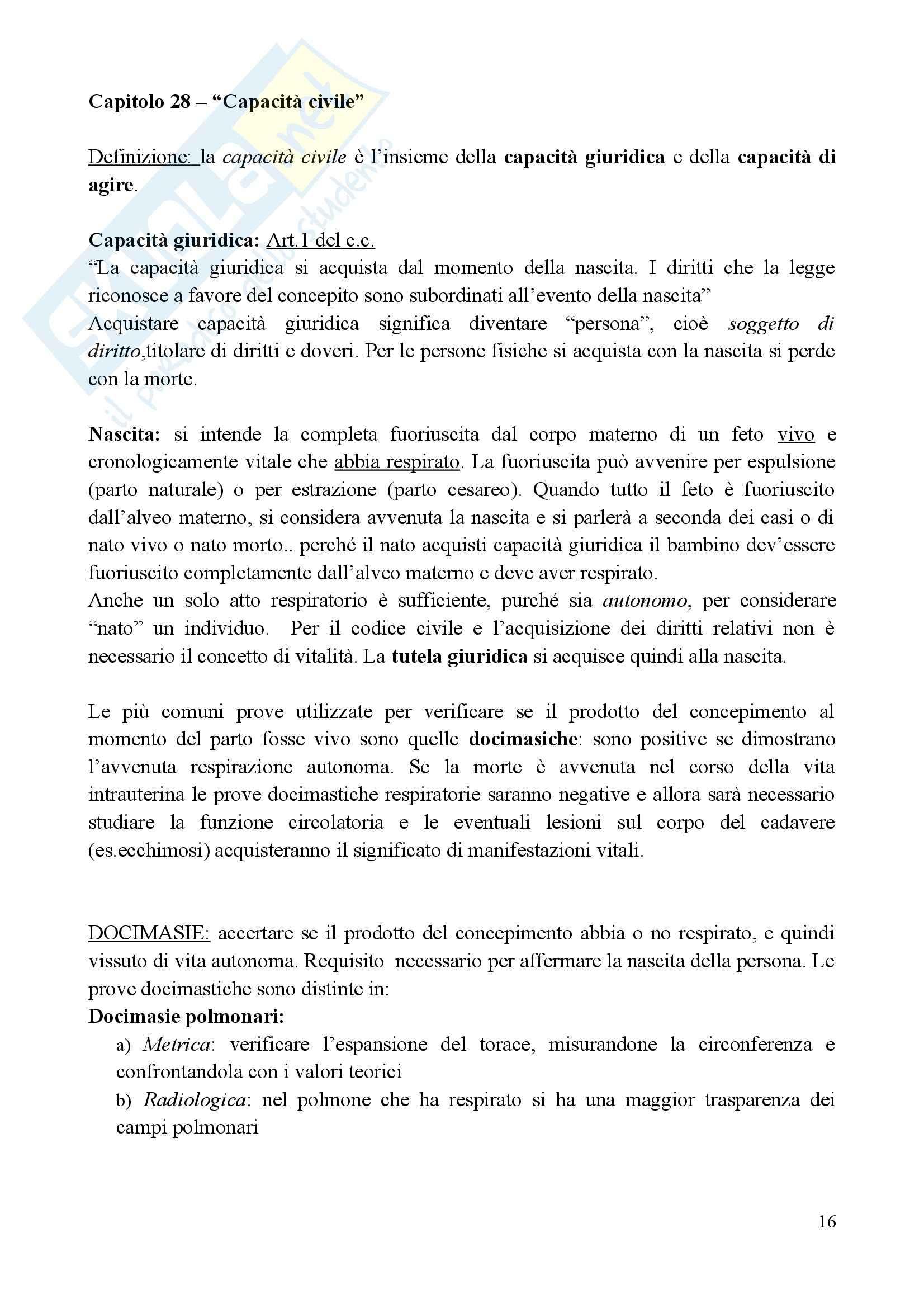 Medicina legale e delle Assicurazioni - il metodo med-legale Pag. 16