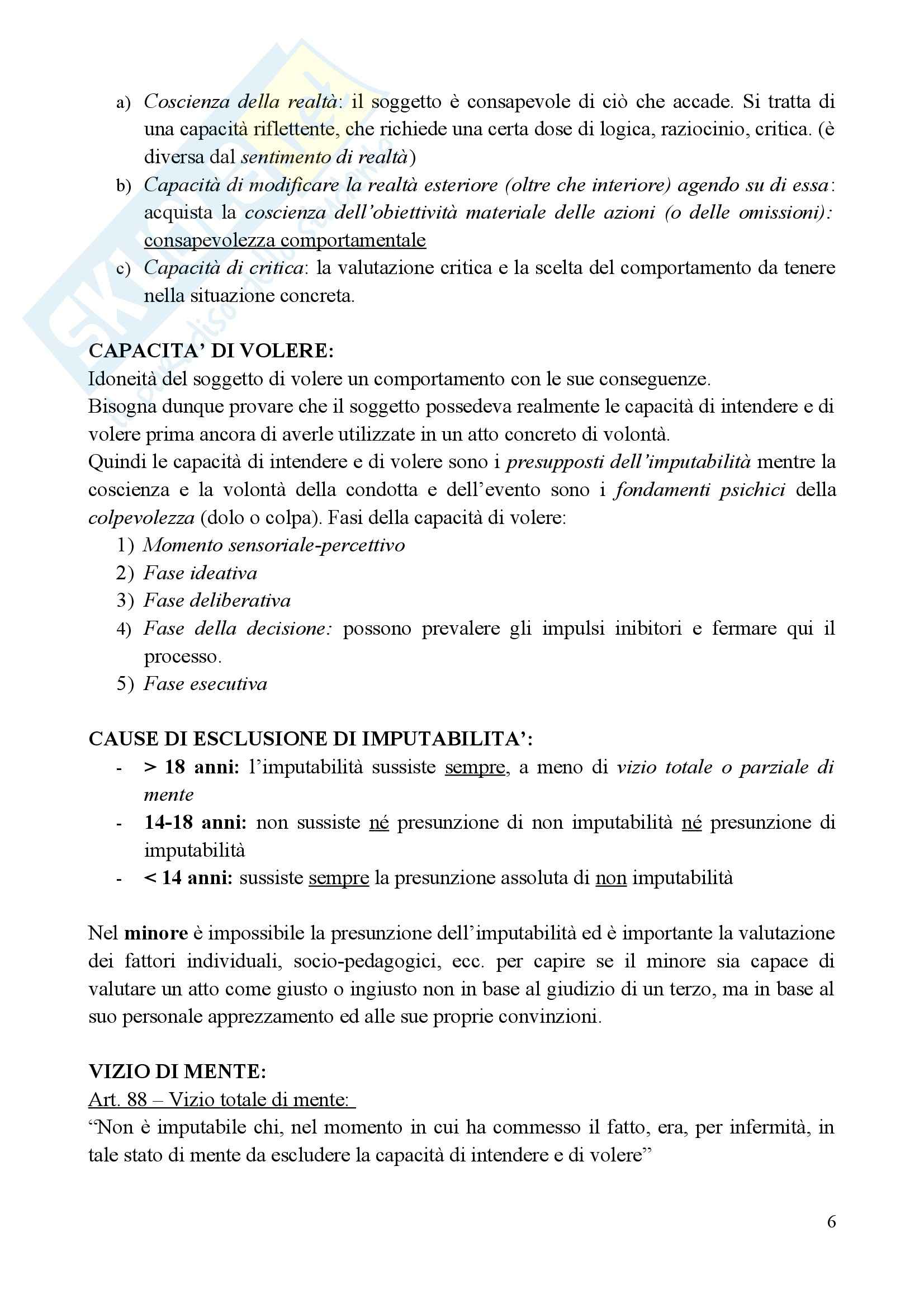 Medicina legale e delle Assicurazioni - il metodo med-legale Pag. 6