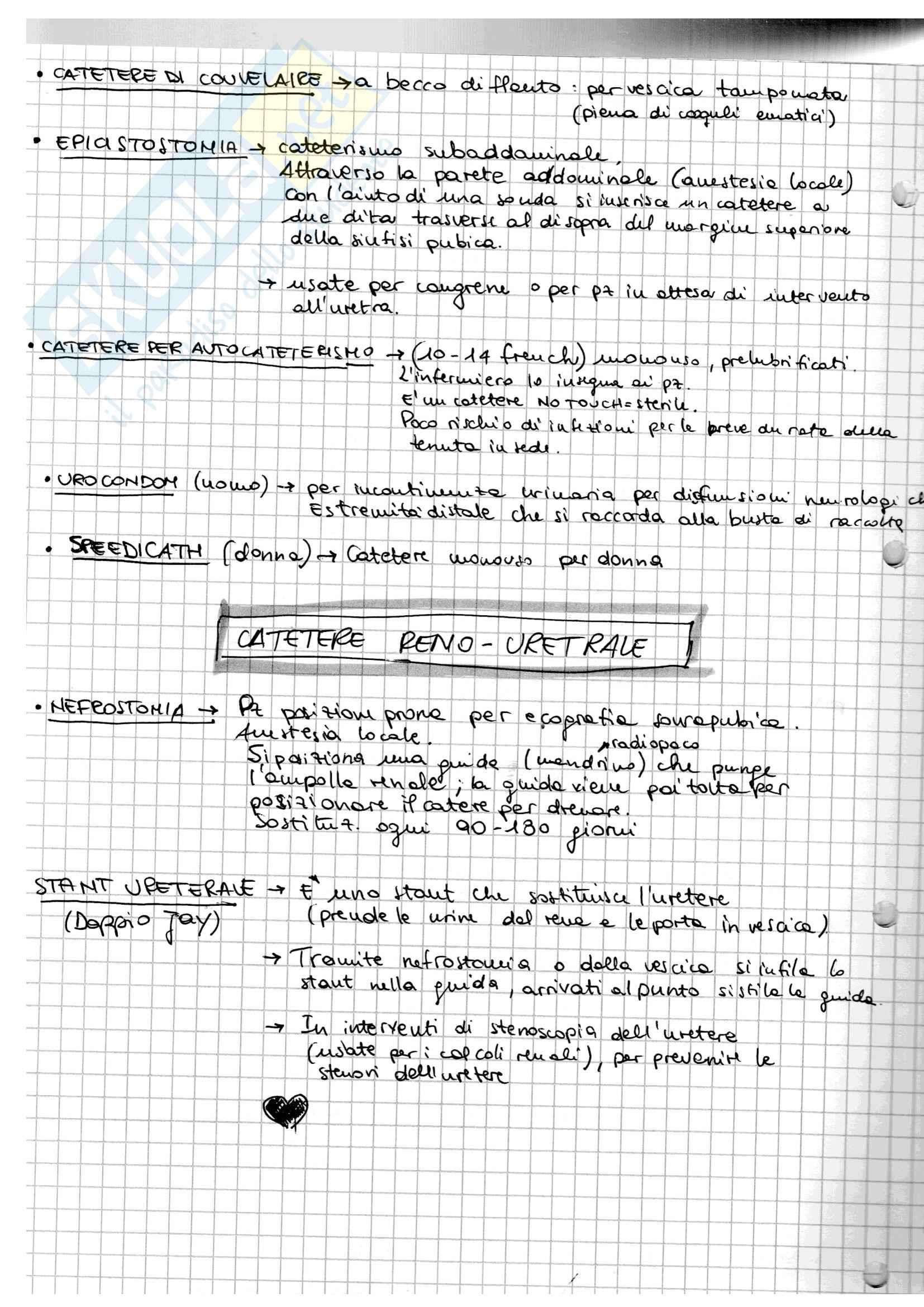 Urologia, infermieristica in area chirurgica Pag. 6