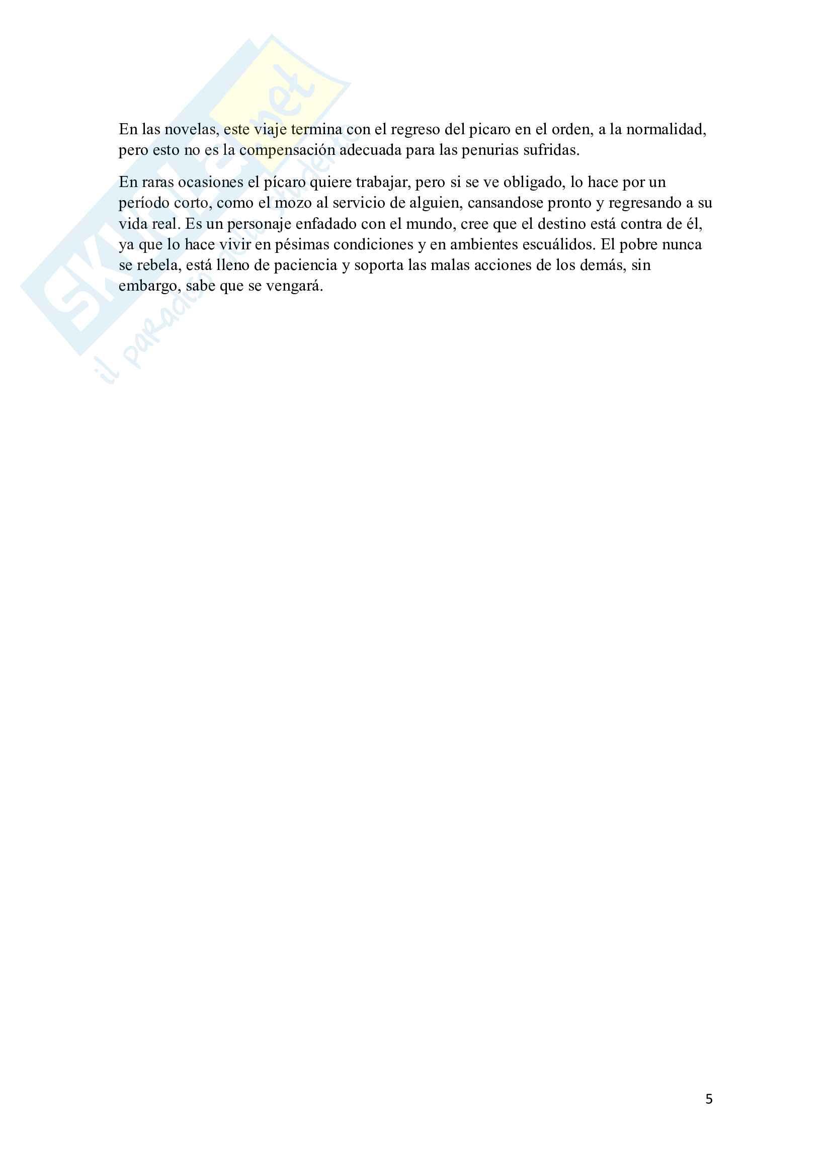Mini tesi di letteratura spagnola Pag. 6
