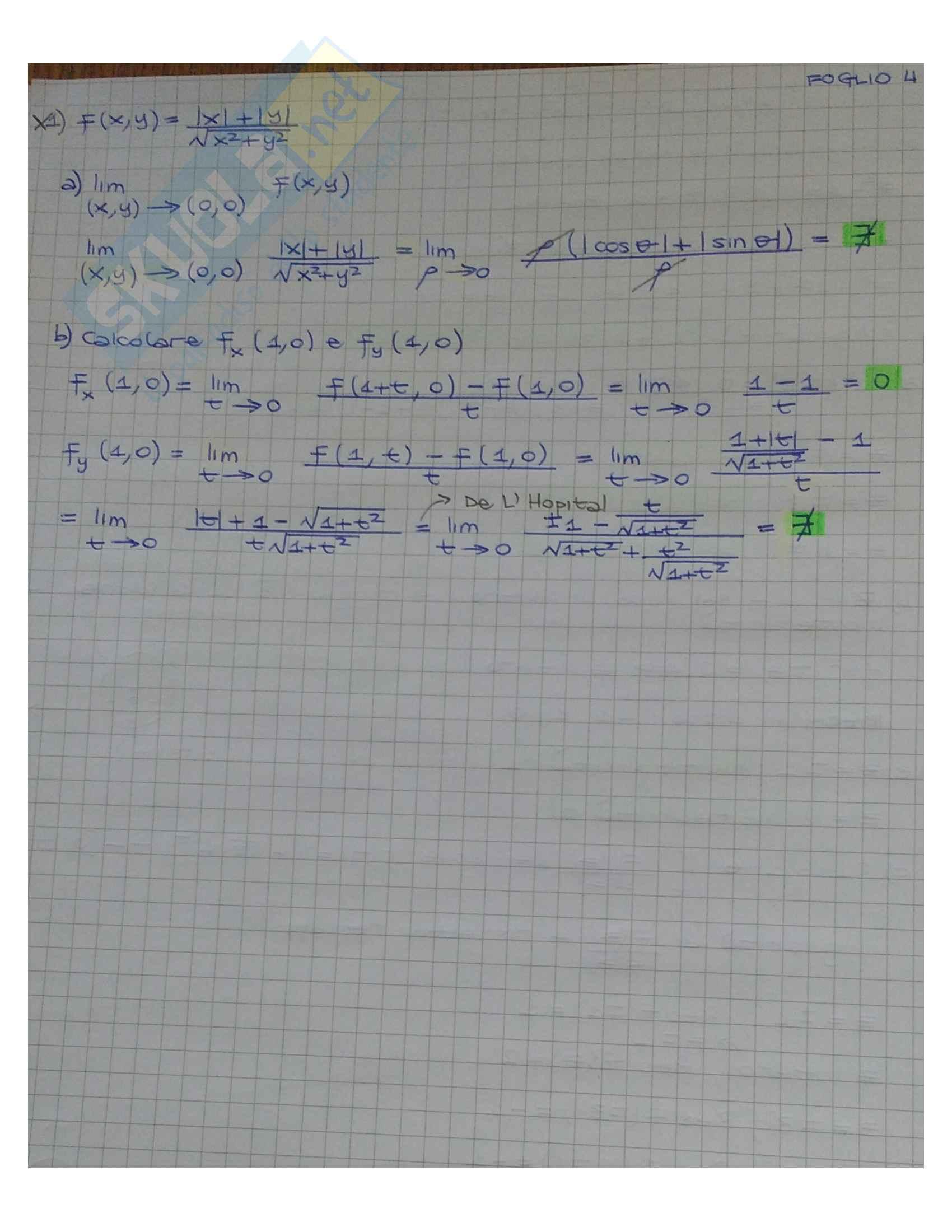 Analisi 2 (Esercizi Svolti) Pag. 16