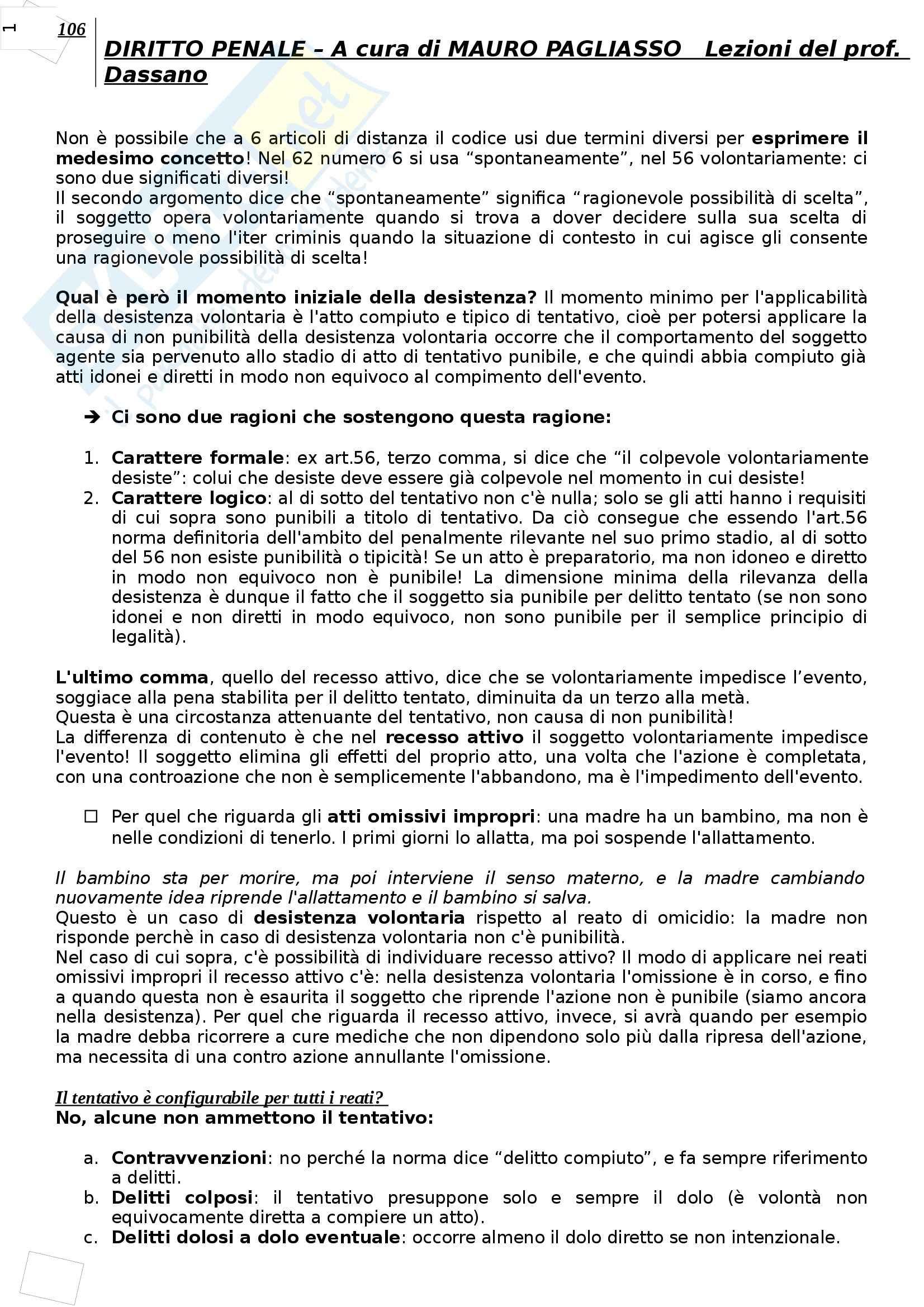 Diritto penale - Appunti Pag. 106