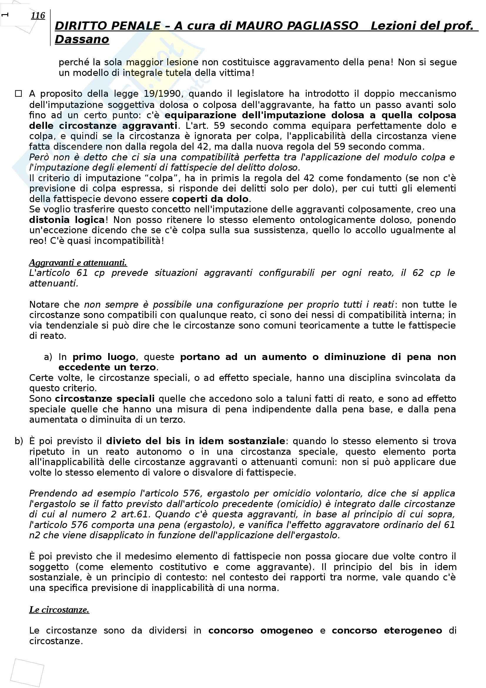Diritto penale - Appunti Pag. 116