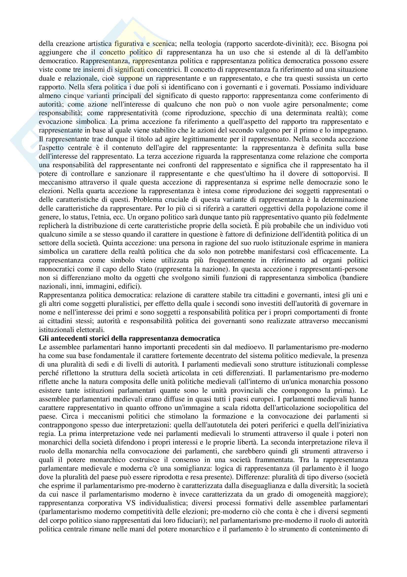 Riassunto esame Scienze Politica, prof. Nevola, libro consigliato La Scienza Politica, di Cotta, Della Porta, Morlino Pag. 21