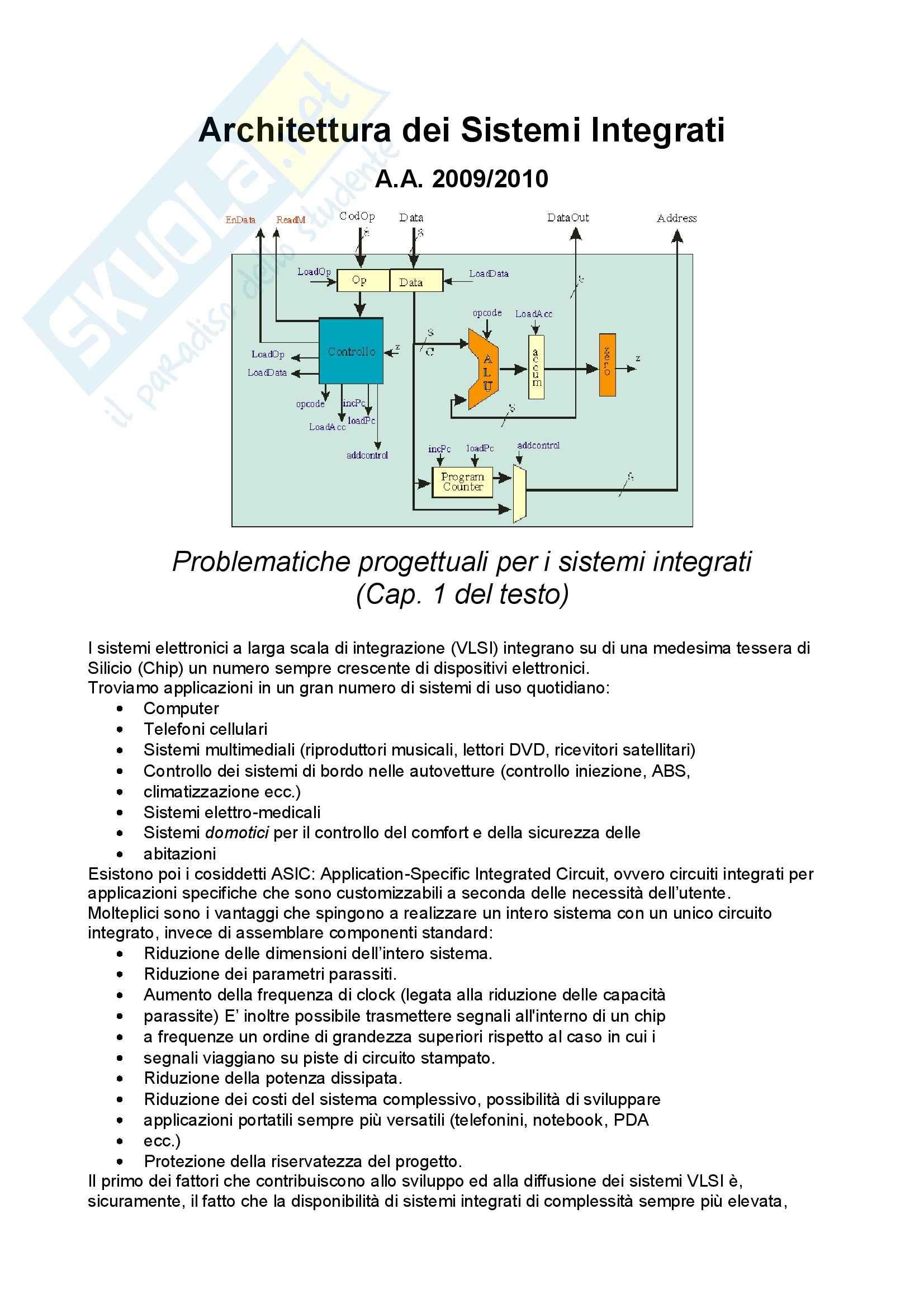 ASI architetture sistemi integrati - ASI sbobinati