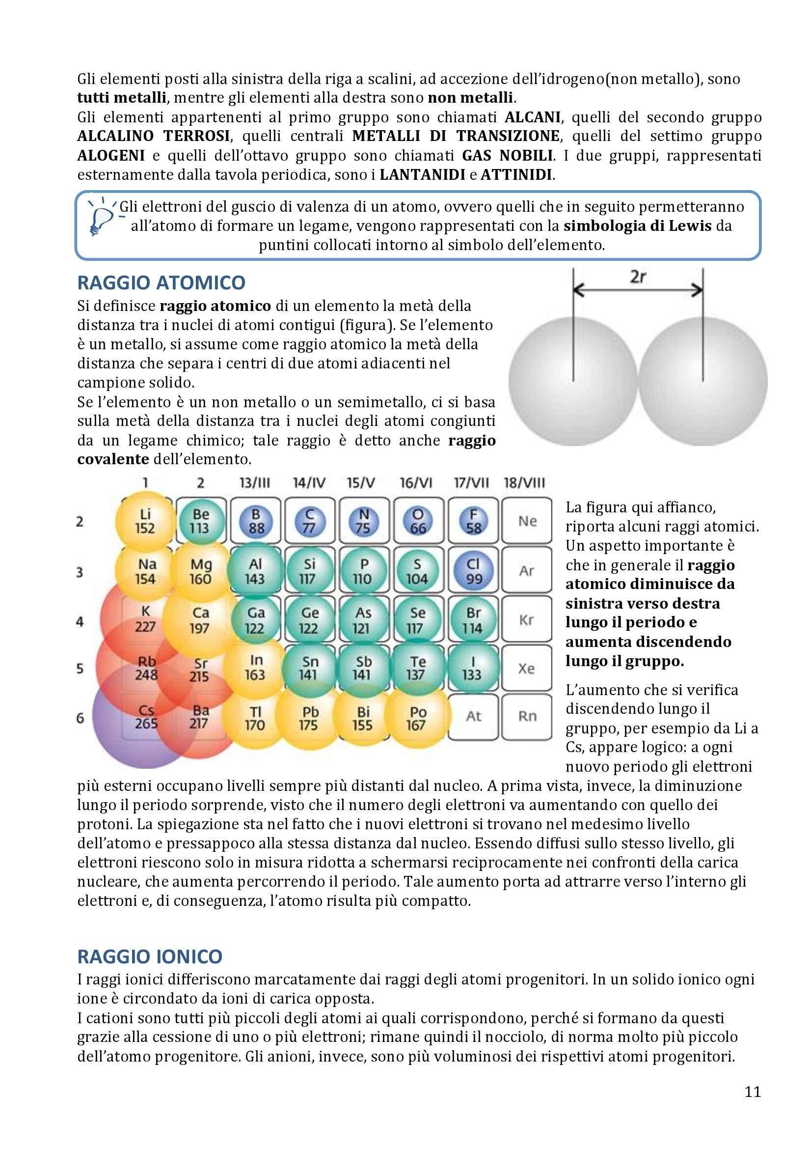 Chimica Generale e inorganica - Appunti Pag. 11