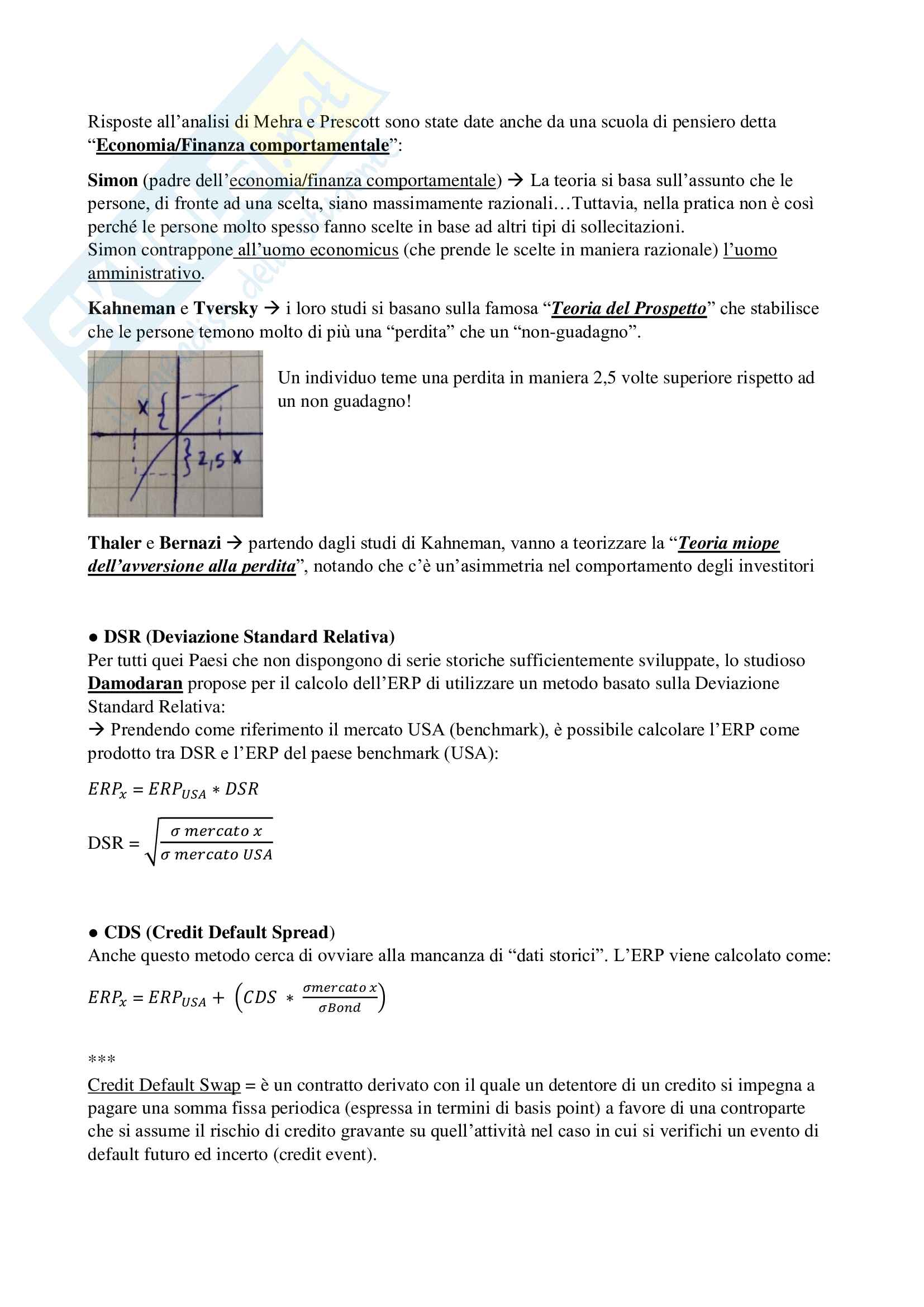 riassunti Valutazione d'azienda - Teoria (Prof Fontana) Pag. 26