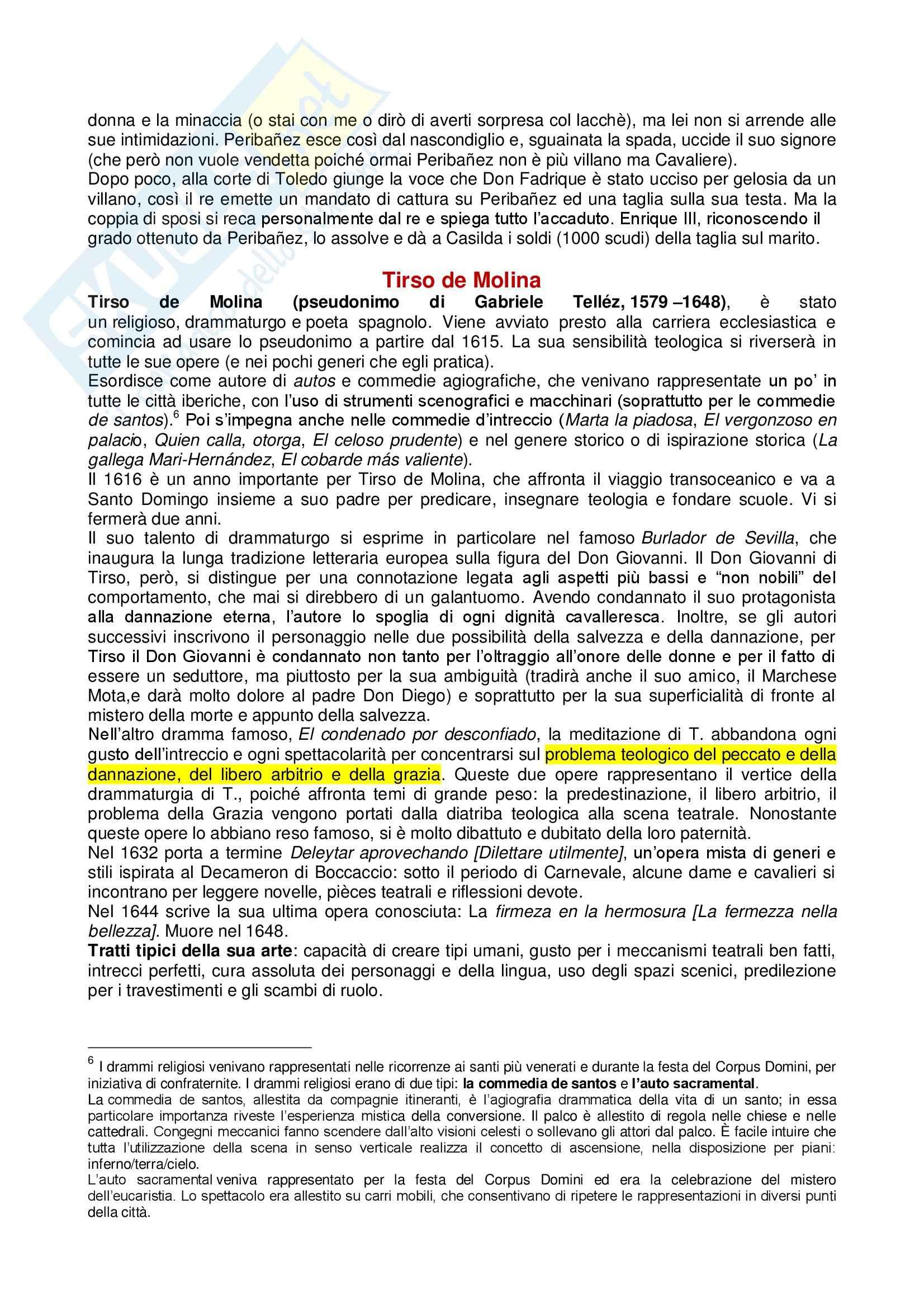 Romanzi: Appunti di Letteratura spagnola Pag. 11