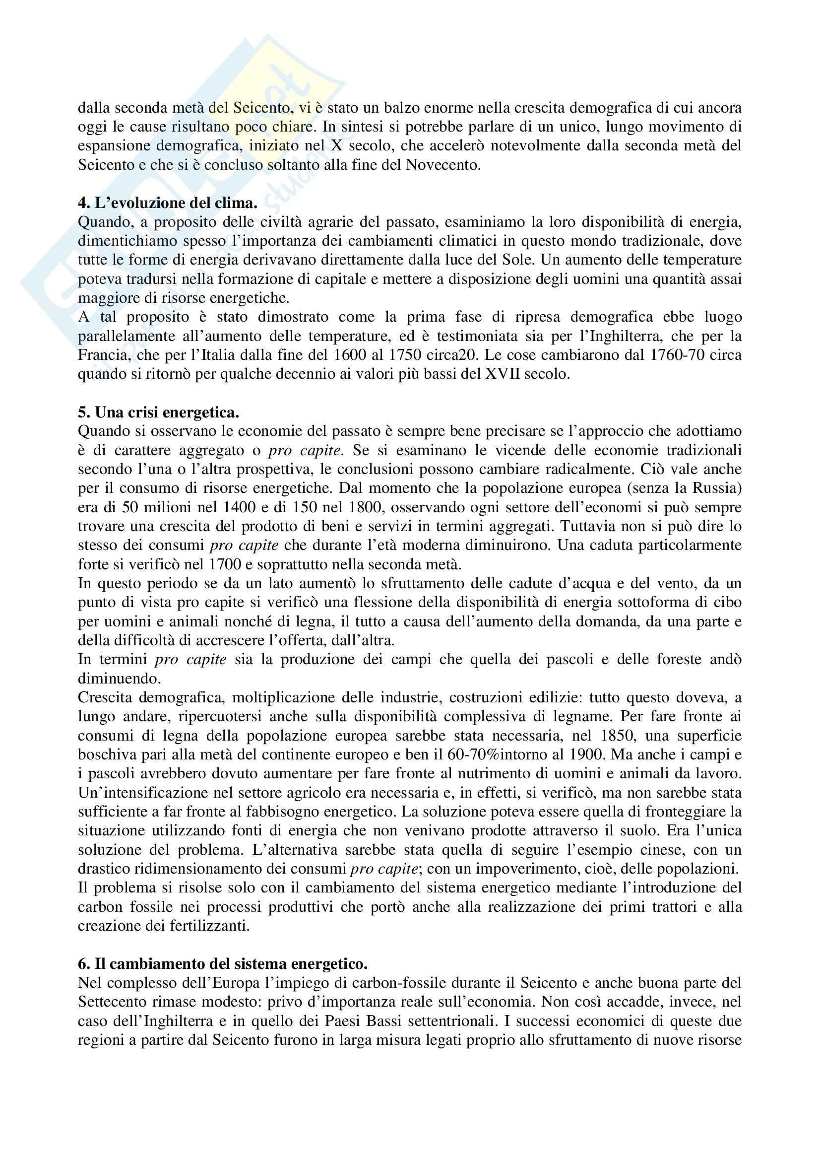 Riassunto esame Storia dell'Industria, prof. Rosolino, libro consigliato La Rivoluzione Industriale tra l'Europa e il Mondo, Detti, Gozzini Pag. 11