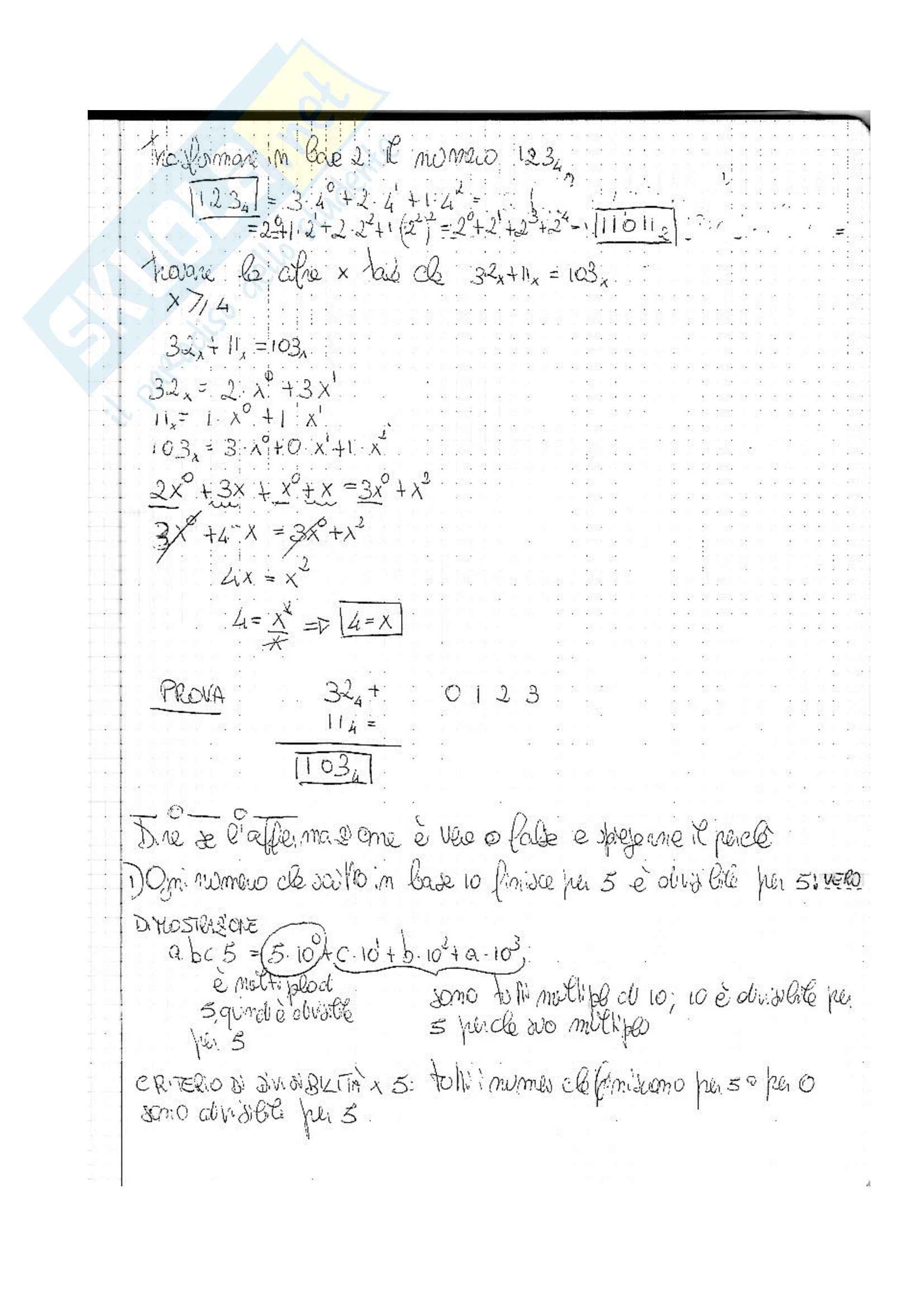 Istituzioni di matematica - Appunti Pag. 11