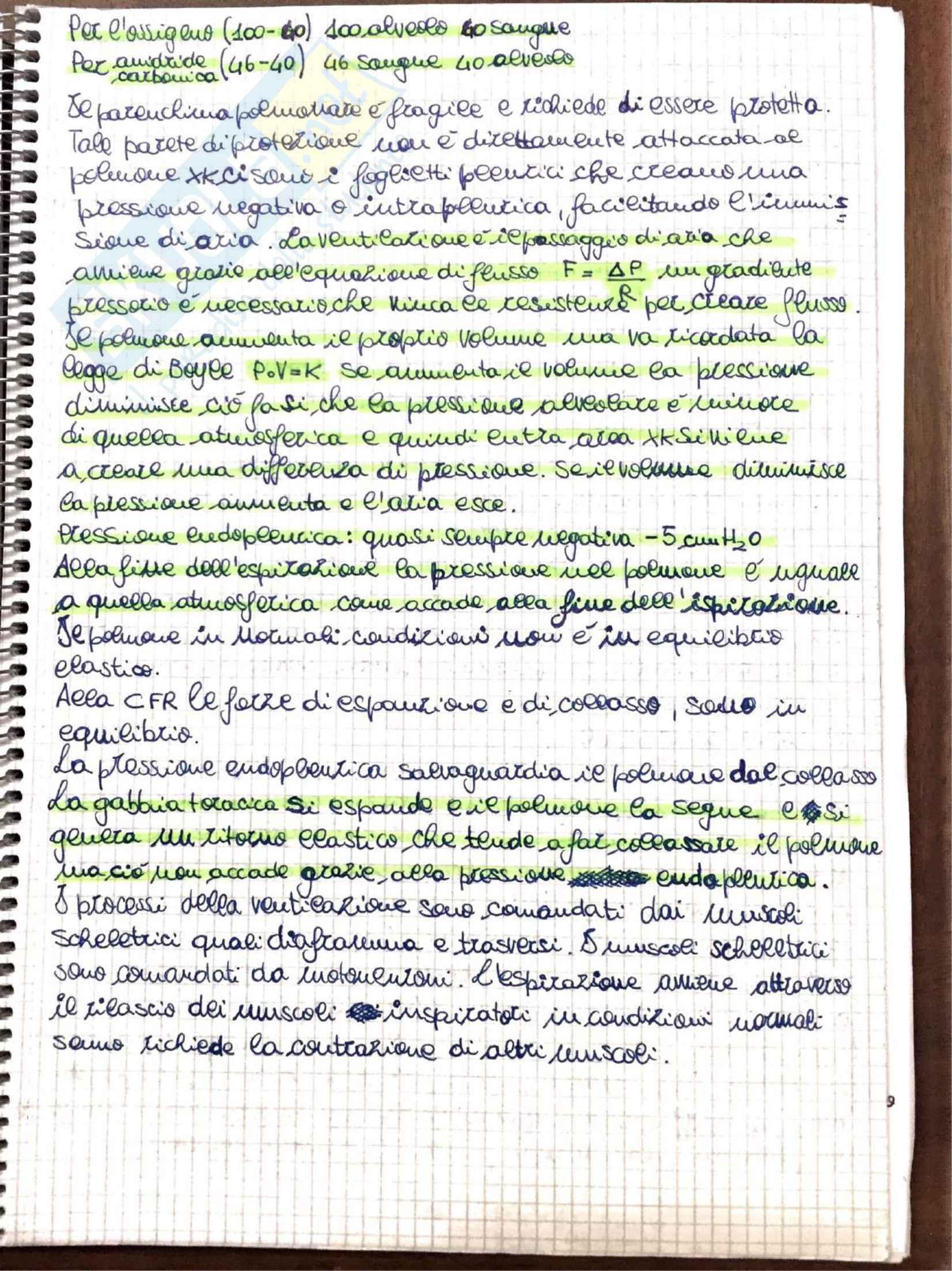 Appunti di Fisiologia umana - Prof. Tozzi Pag. 21