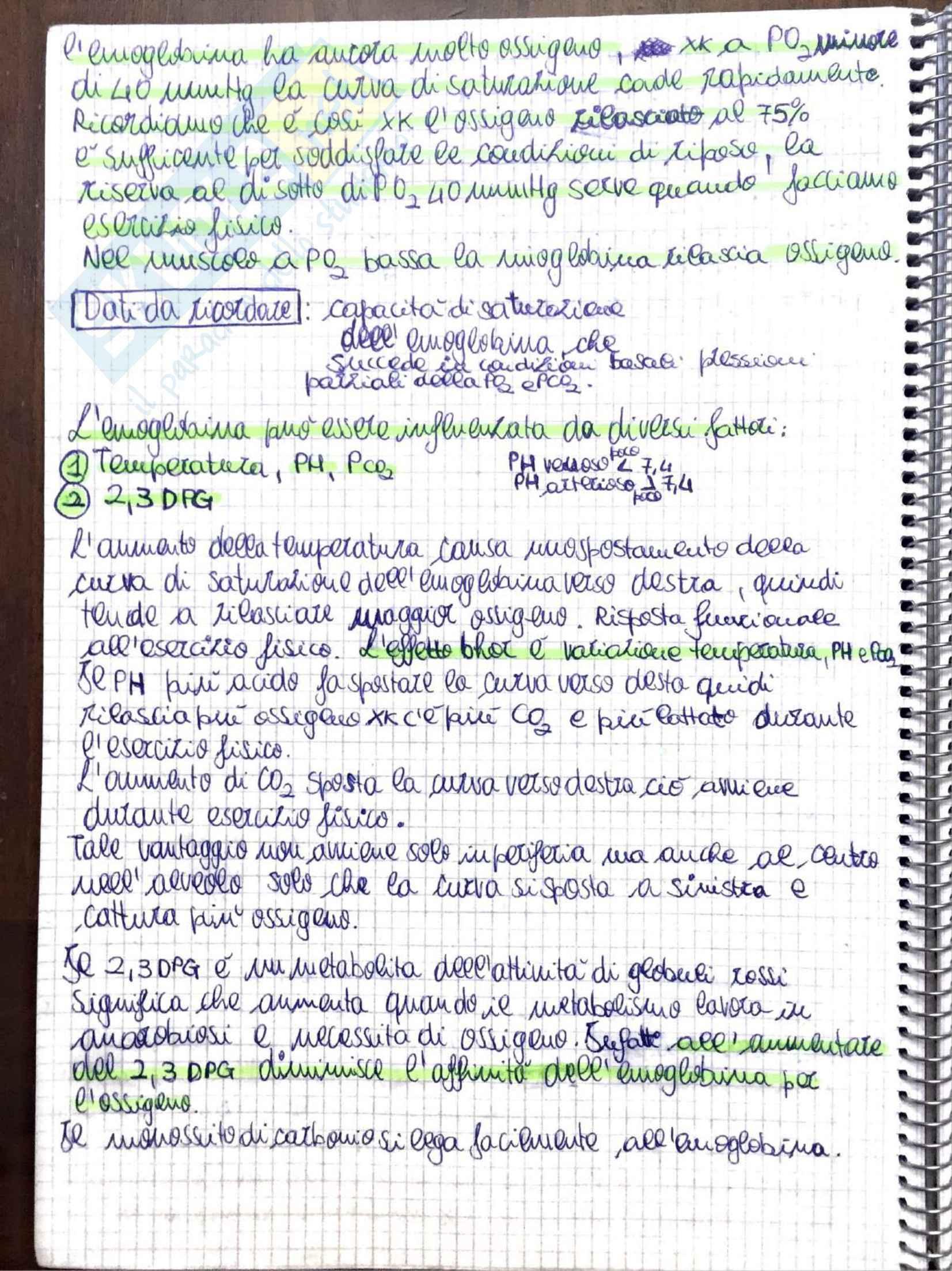 Appunti di Fisiologia umana - Prof. Tozzi Pag. 26