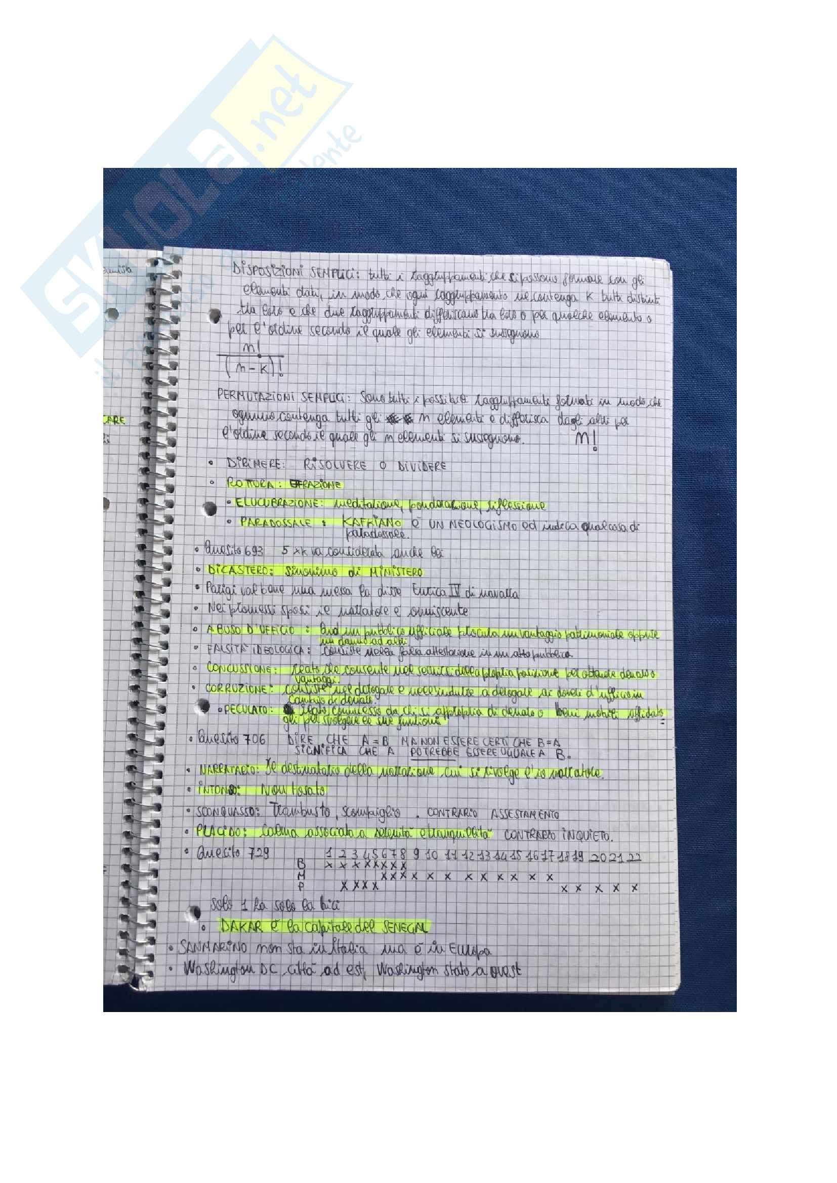 Tutti i test di logica Alpha Test con soluzioni per l'accesso alle Professioni Sanitarie e Medicina Pag. 11