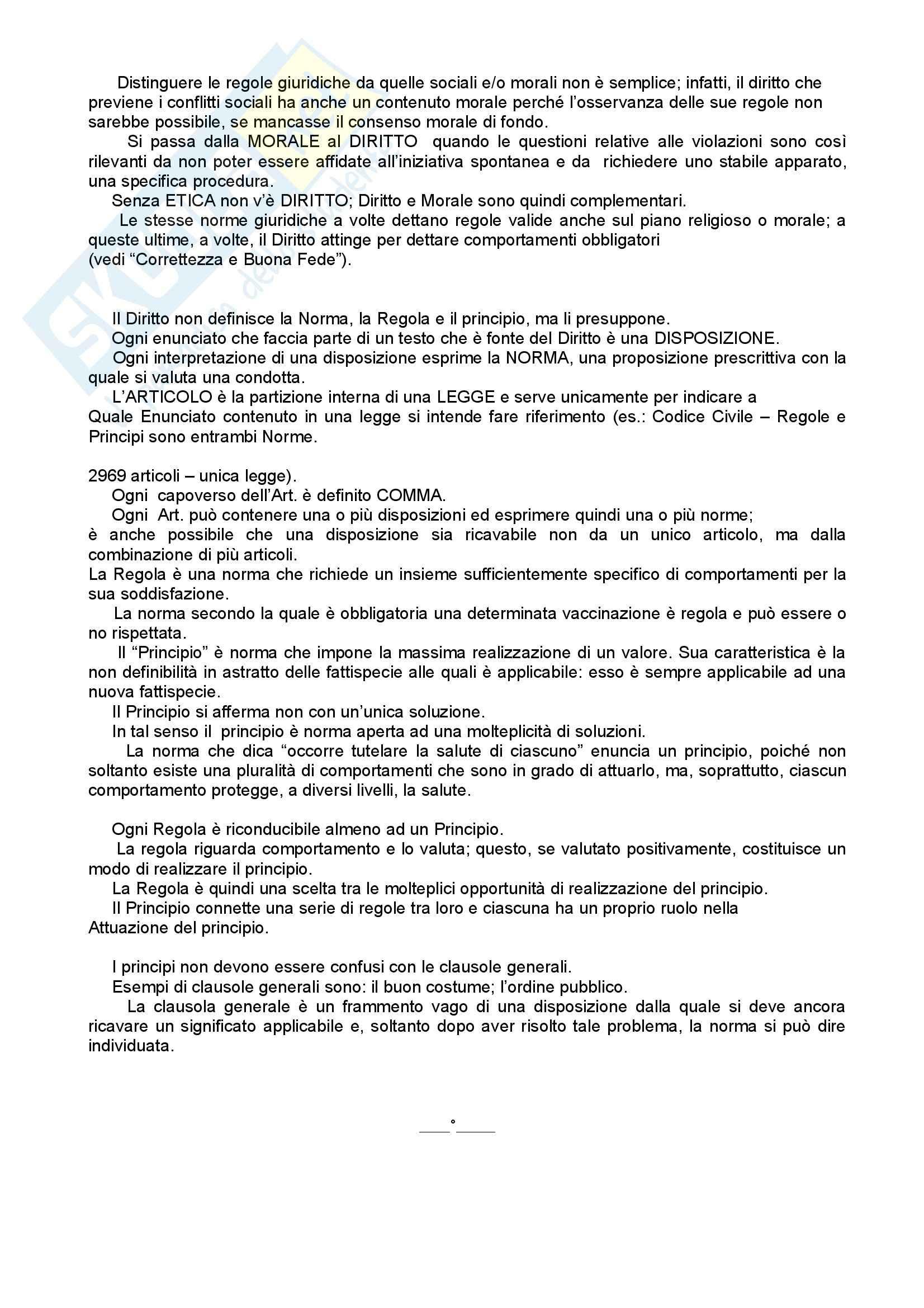 Diritto privato - Riassunto esame, prof. Bozzi Pag. 2
