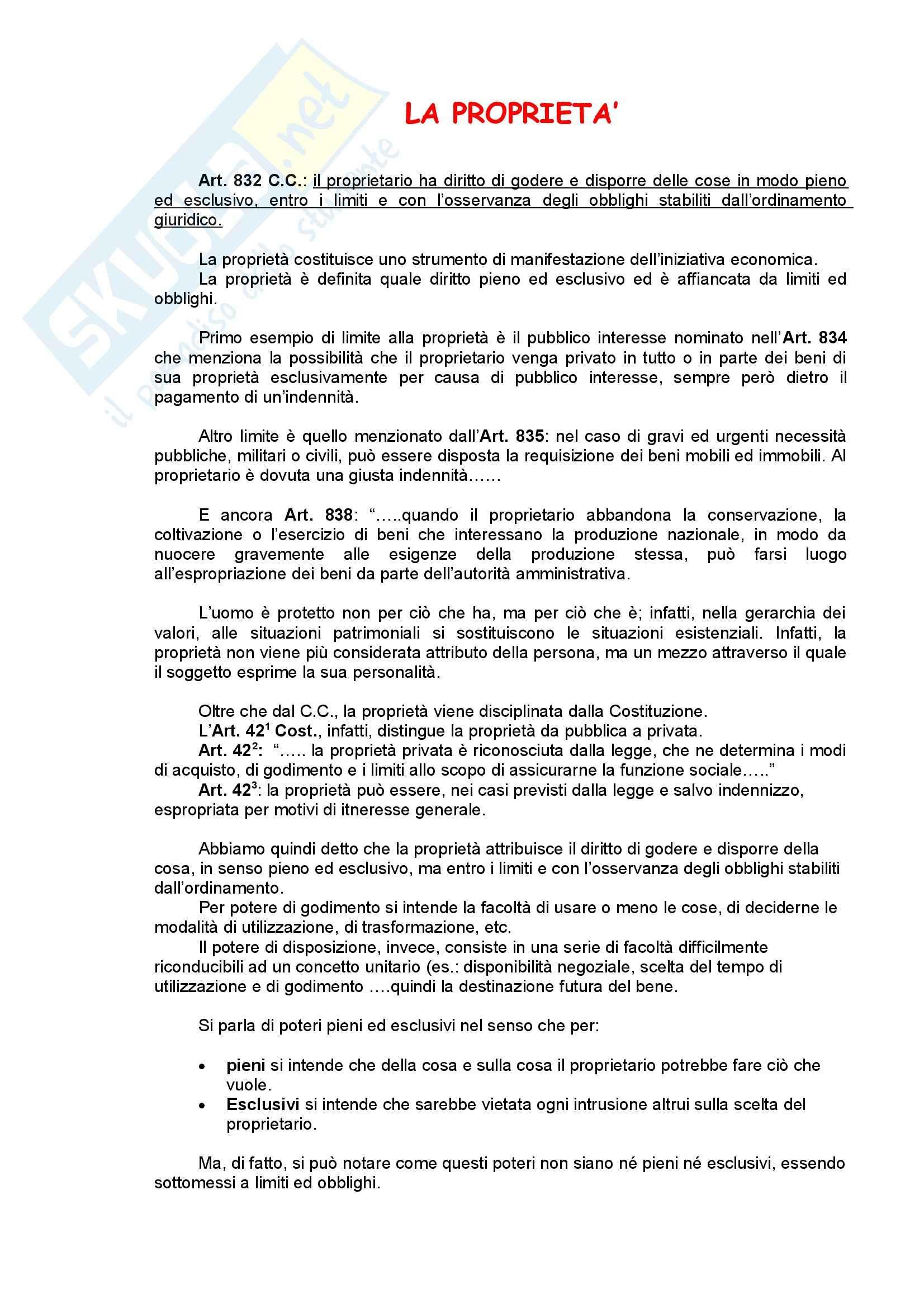 Diritto privato - Riassunto esame, prof. Bozzi Pag. 21