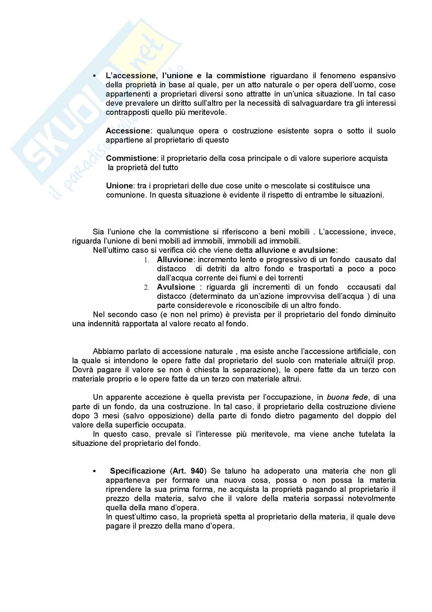 Diritto privato - Riassunto esame, prof. Bozzi Pag. 26