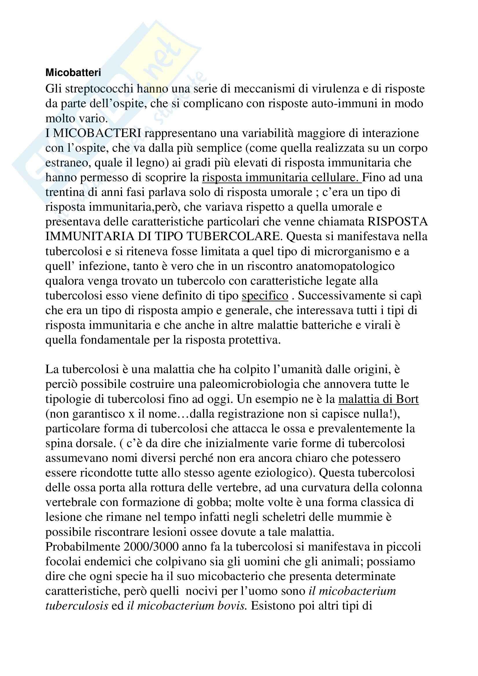appunto M. Galdiero Microbiologia
