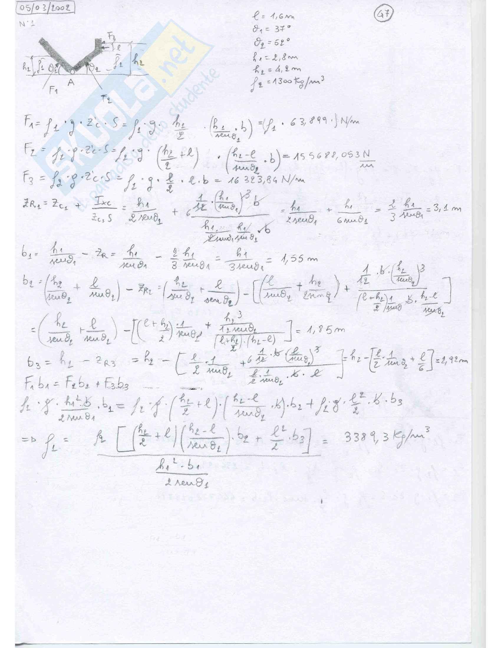Fluidodinamica Esercizi Pag. 46