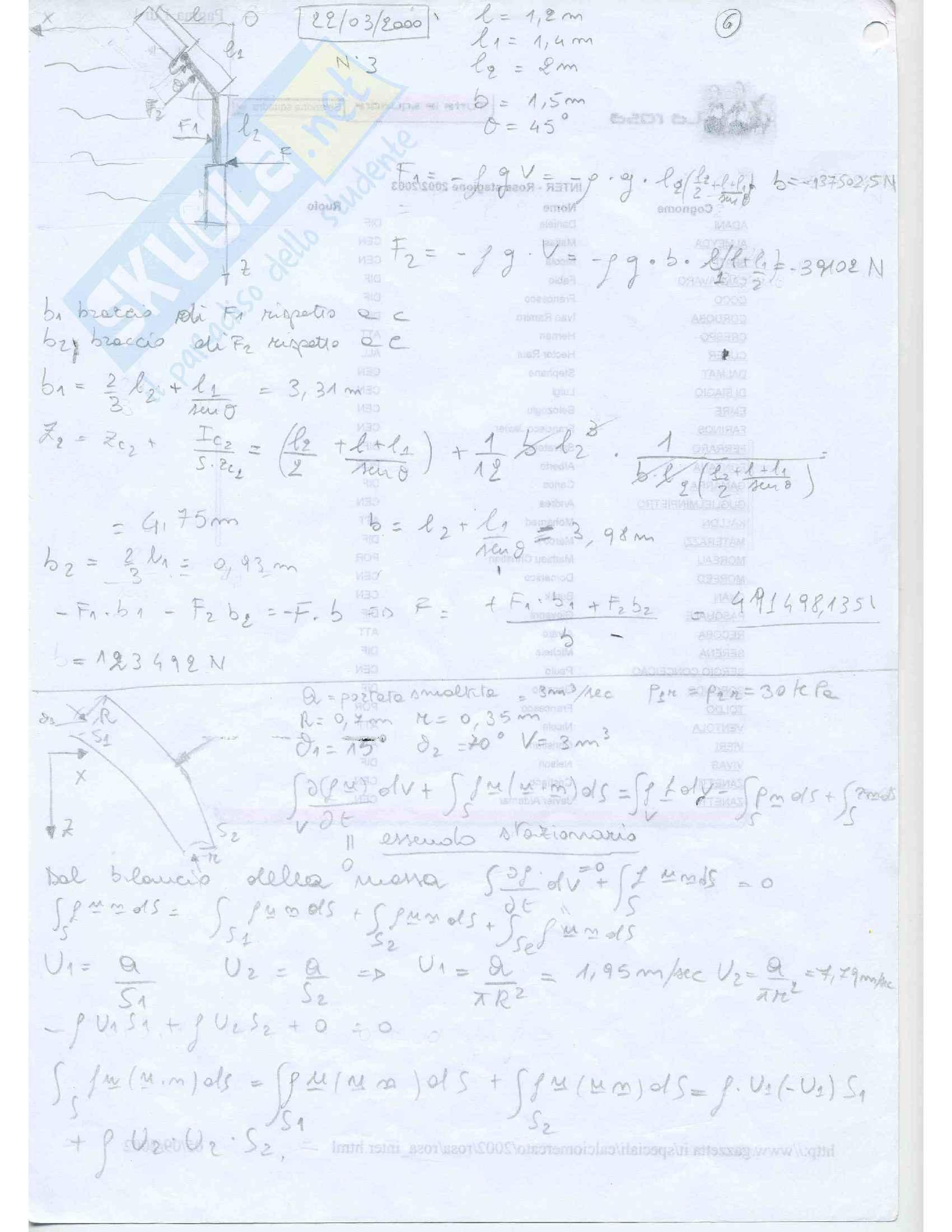 Fluidodinamica Esercizi Pag. 6