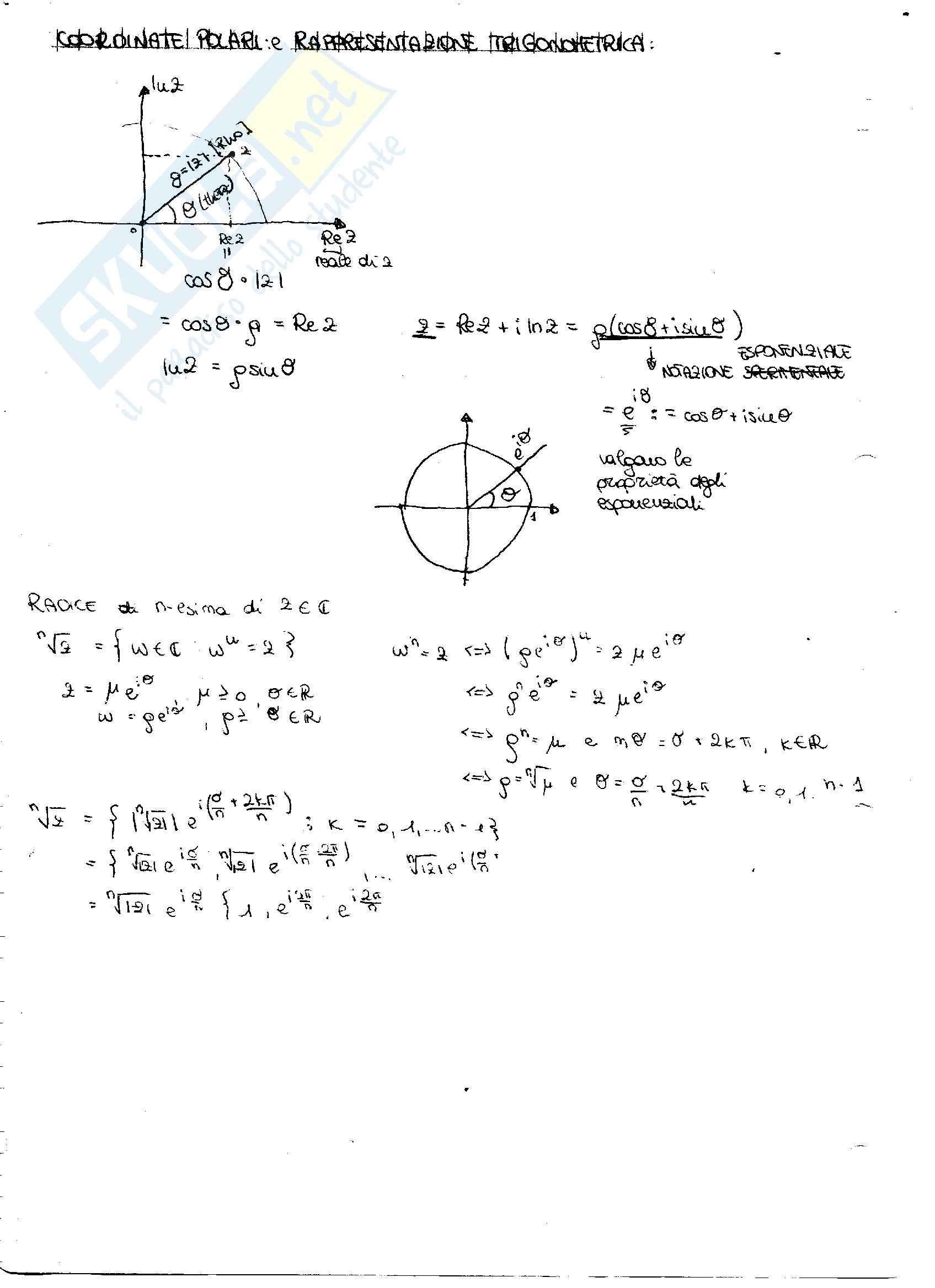 Principio di induzione e derivate: Appunti di Analisi matematica Pag. 6