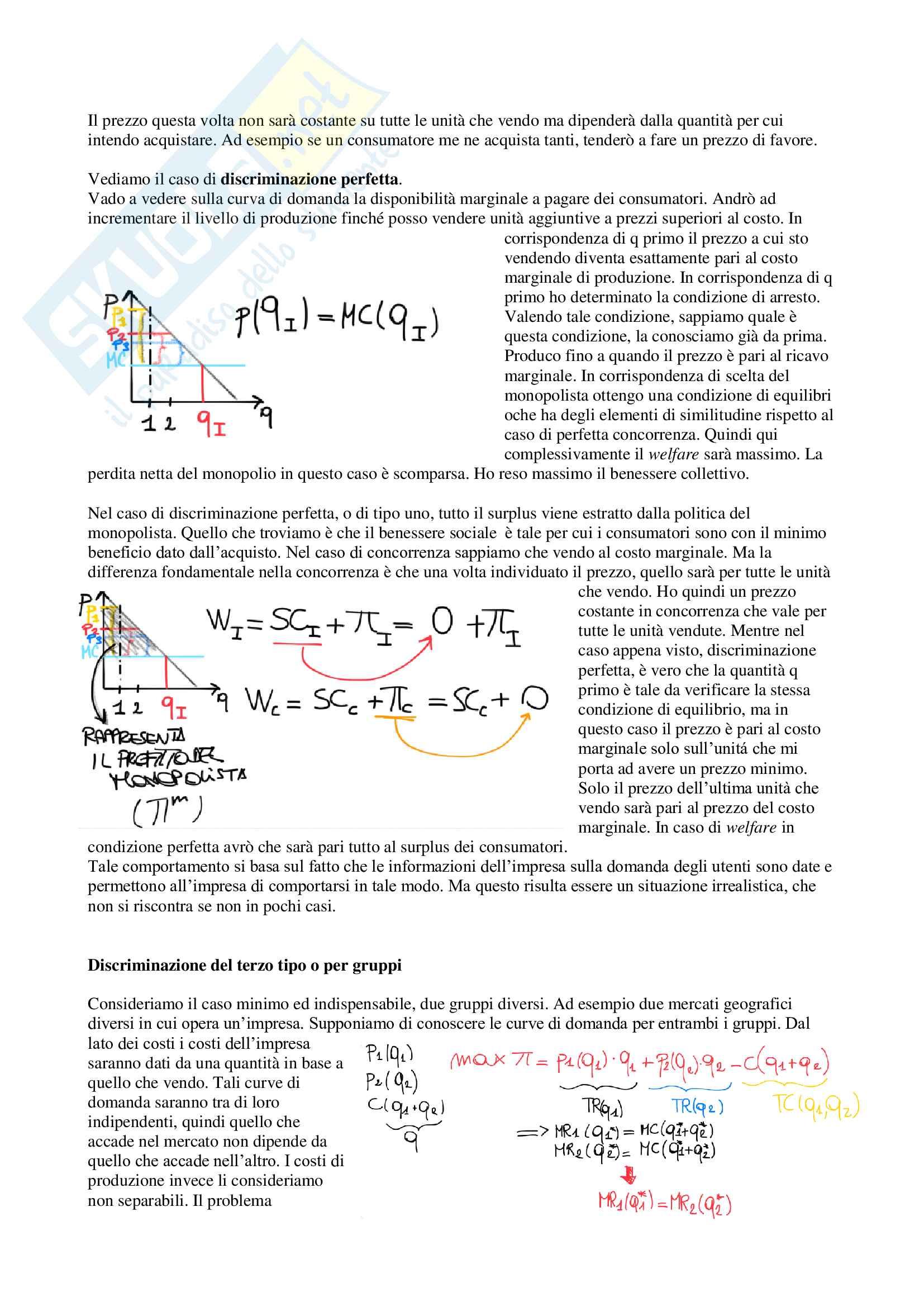 Appunti di Economia dei sistemi industriali, prof. Reverberi e Nastasi Pag. 11
