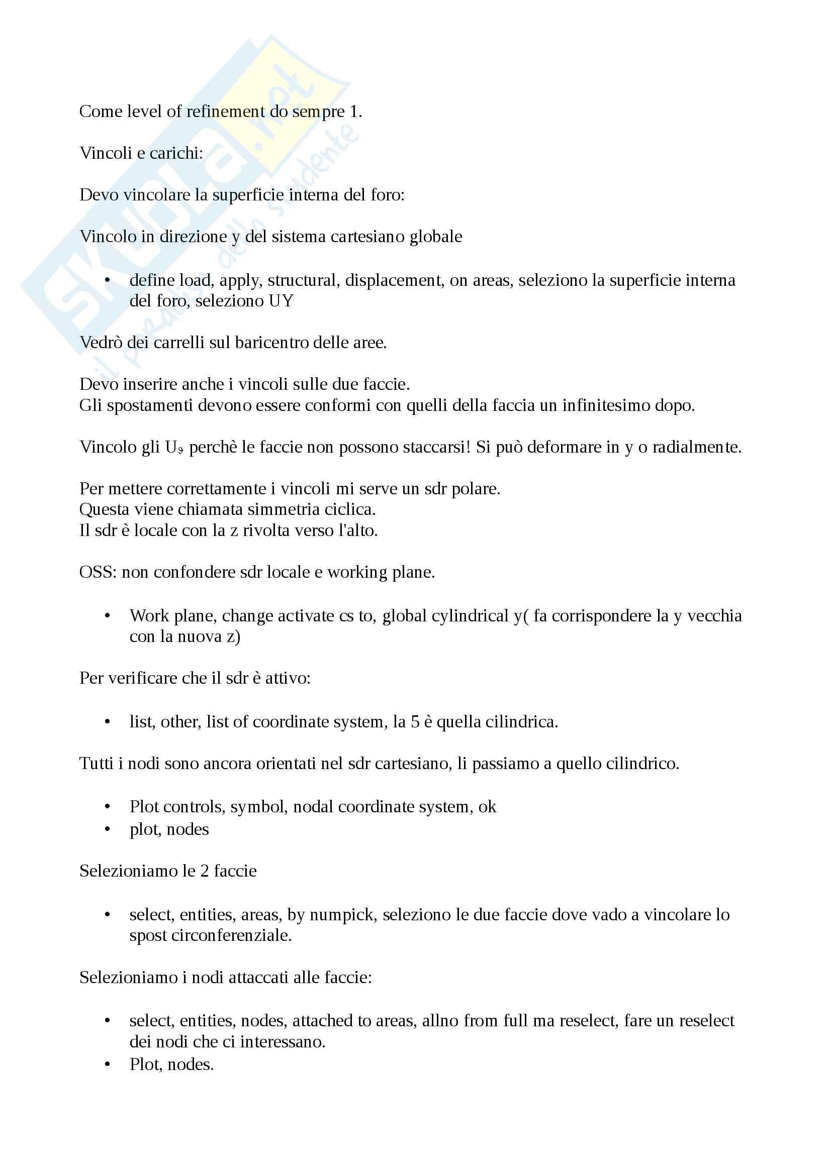 Metodi di progettazione meccanica Pag. 31