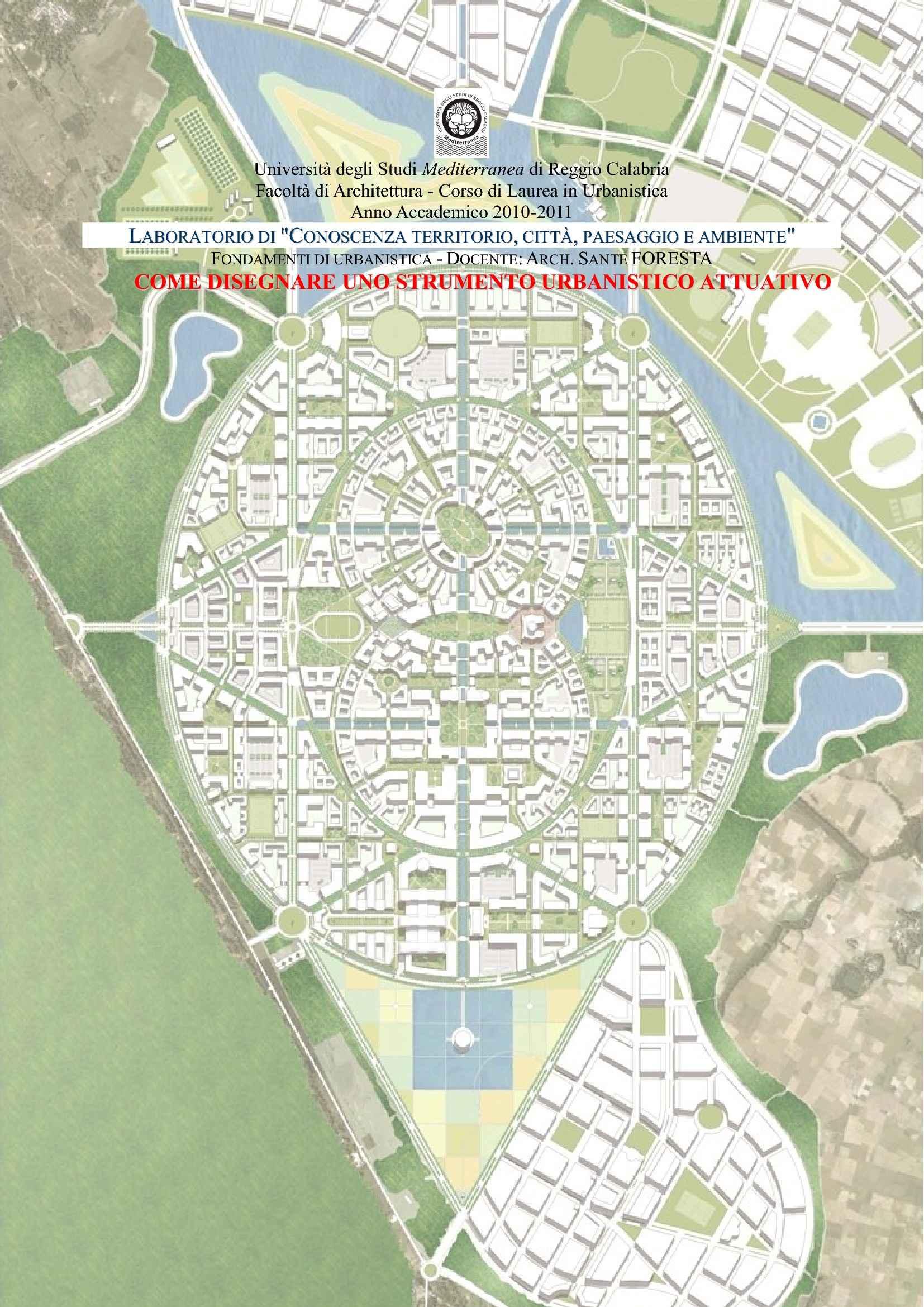 Urbanistica - Esempi di piani attuativi