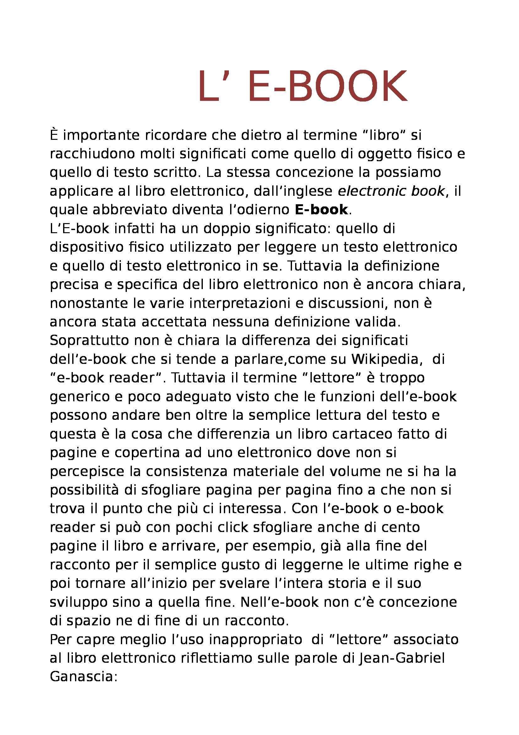 appunto M. Guerrini Biblioteconomia