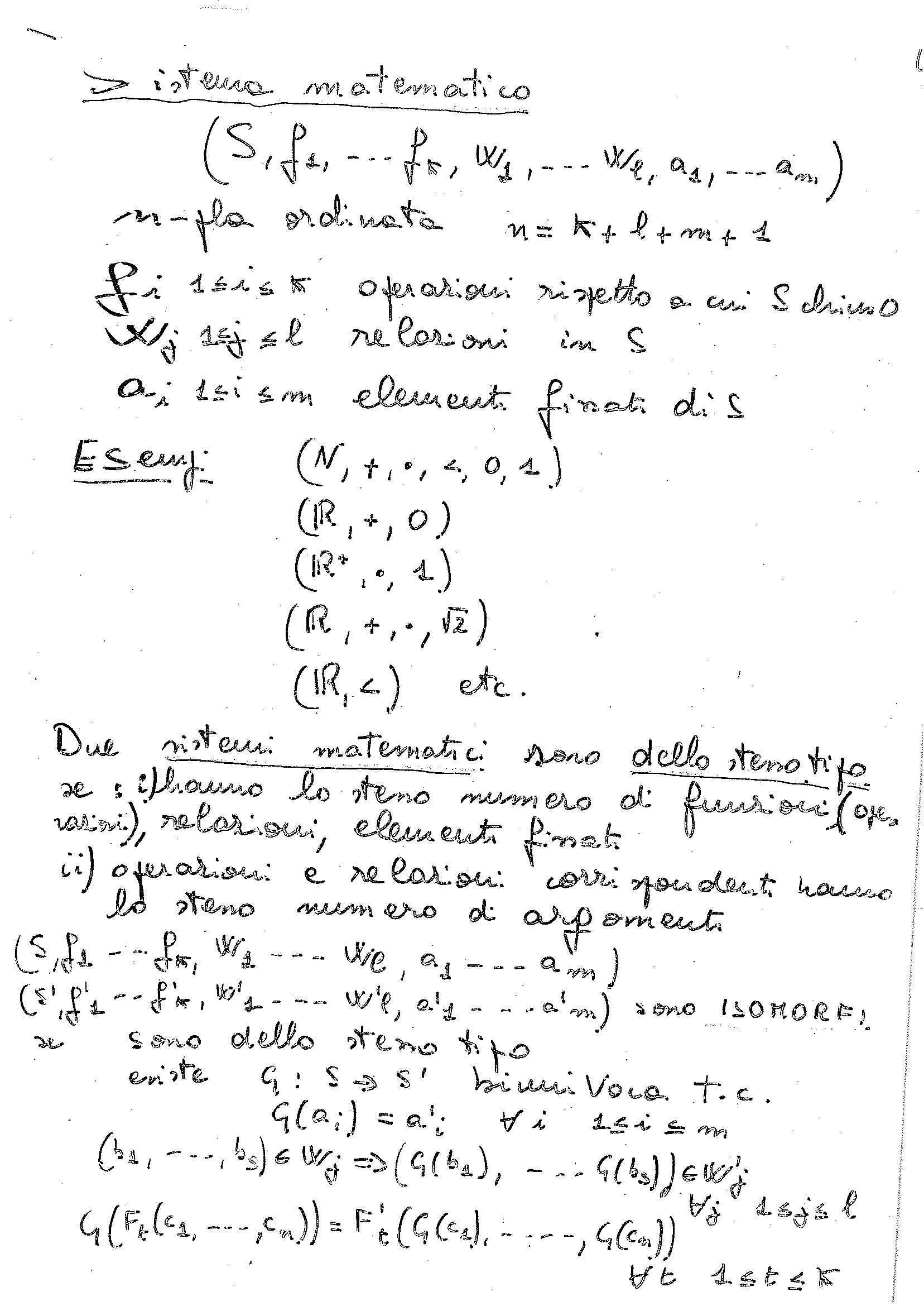 Sistemi matematici