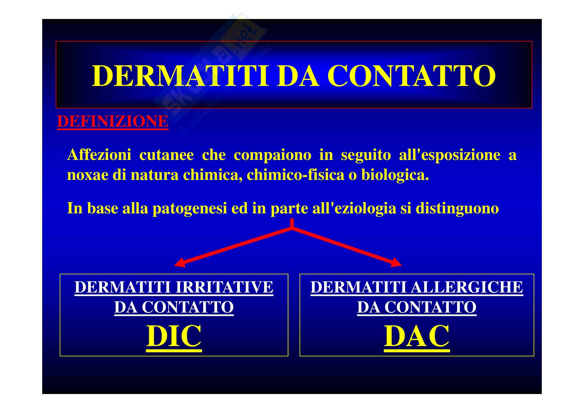 Dermatiti professionali Pag. 6