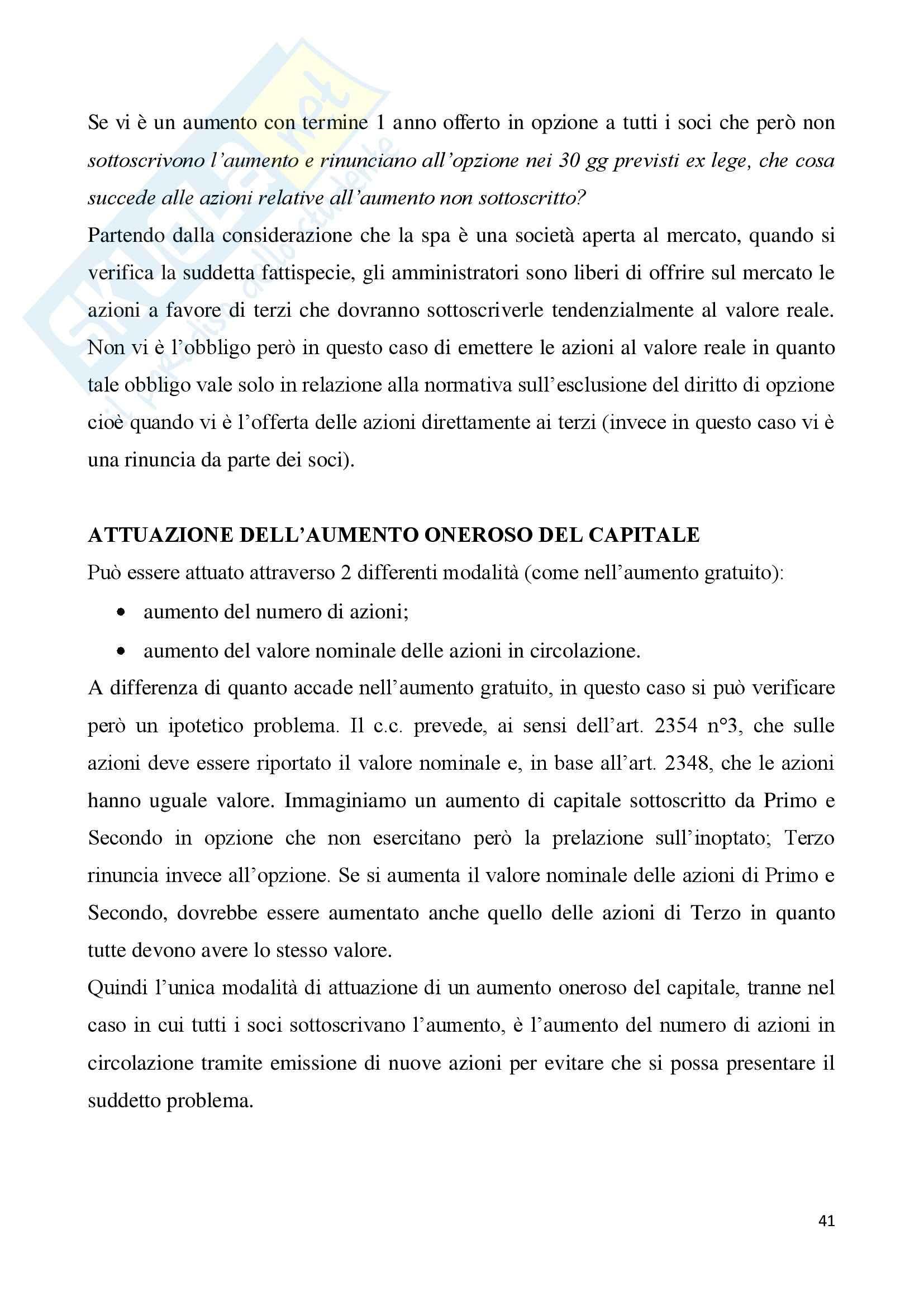 Riassunto esame Diritto Commerciale, prof. Viggiani, libro consigliato Civerra Pag. 41