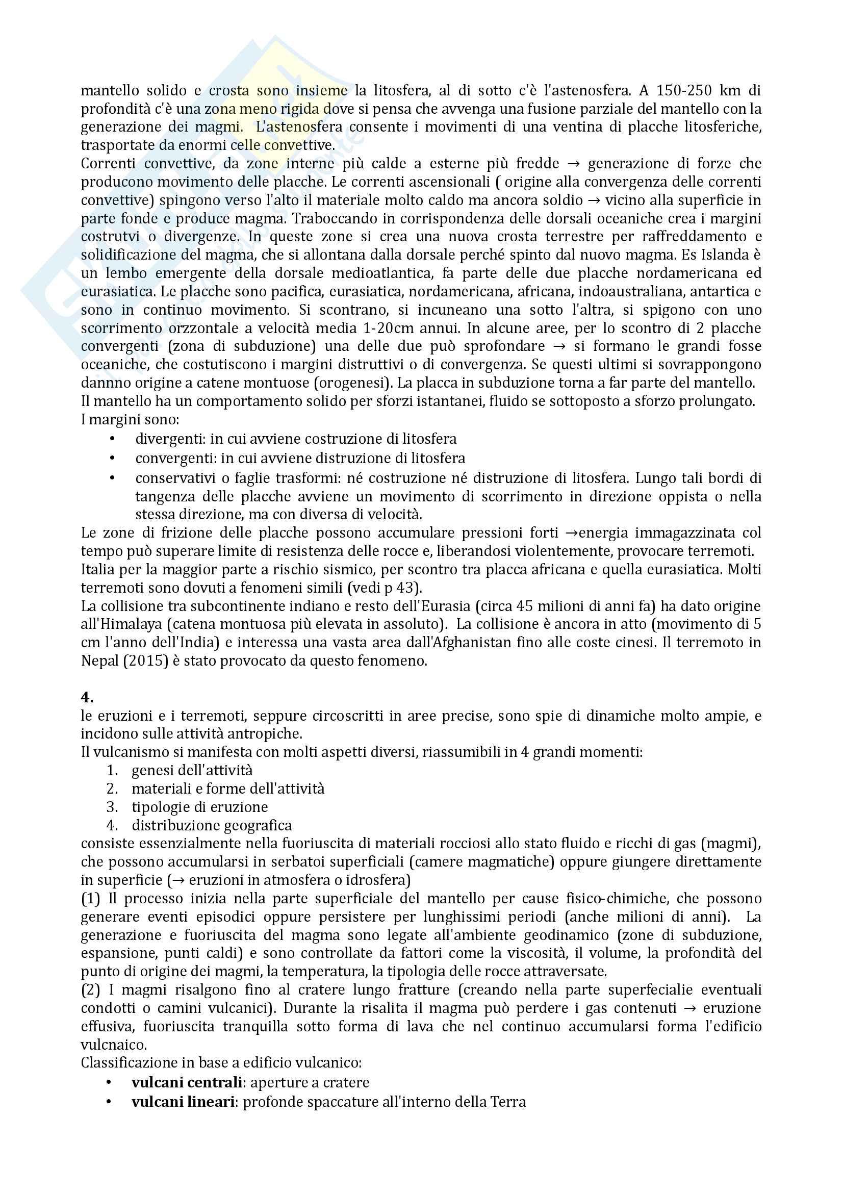 Riassunto esame Geografia, prof De Vecchis, libro consigliato Geografia generale, De Vecchis Pag. 6