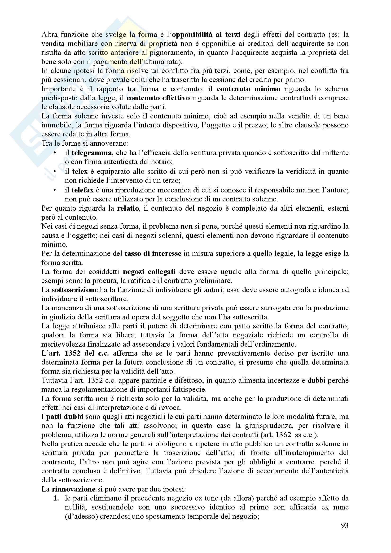 Diritto Civile - Perlingieri – Parte quarta – Riassunto esame Pag. 11