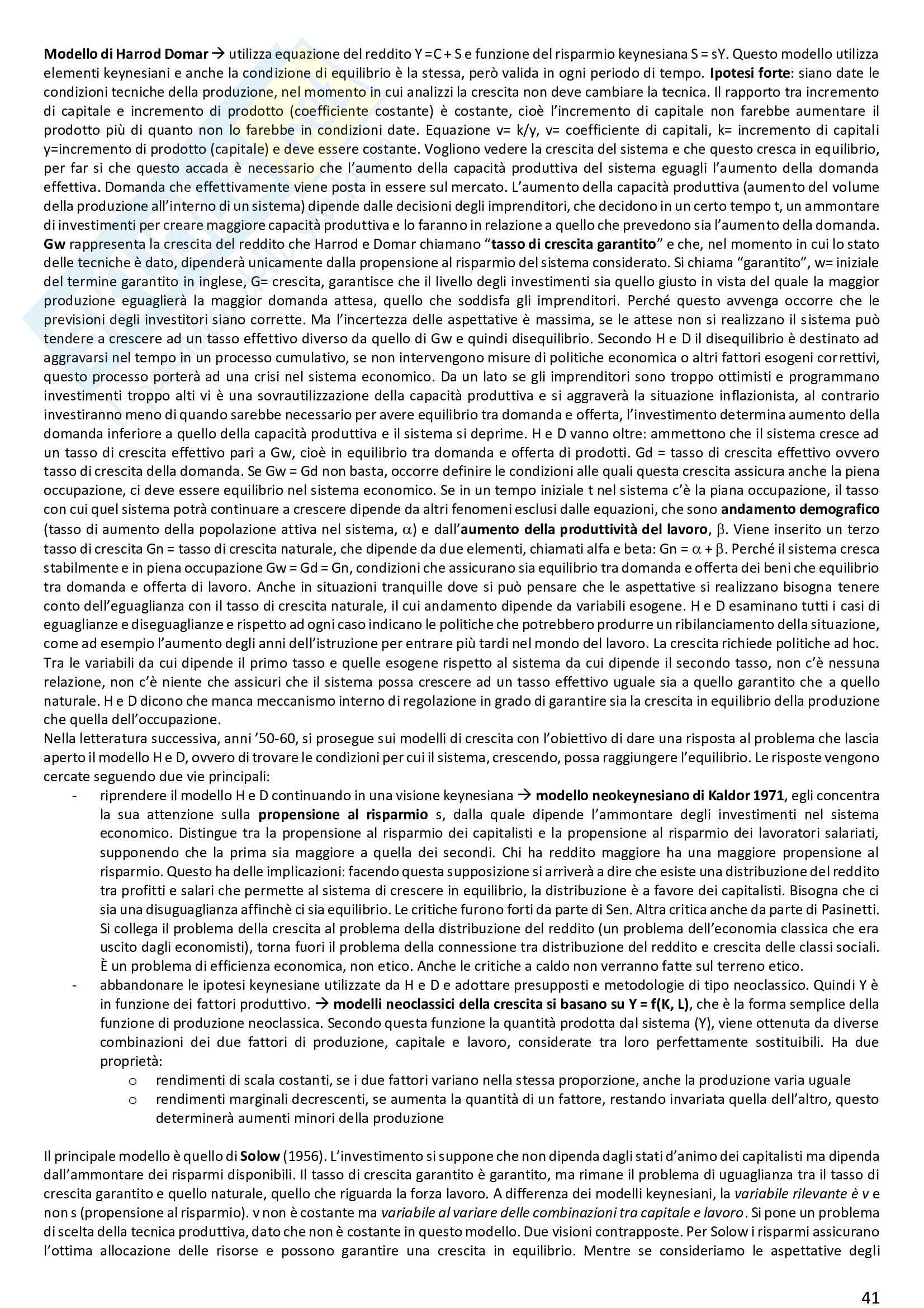 Appunti Economia dello sviluppo: profili storici Pag. 41