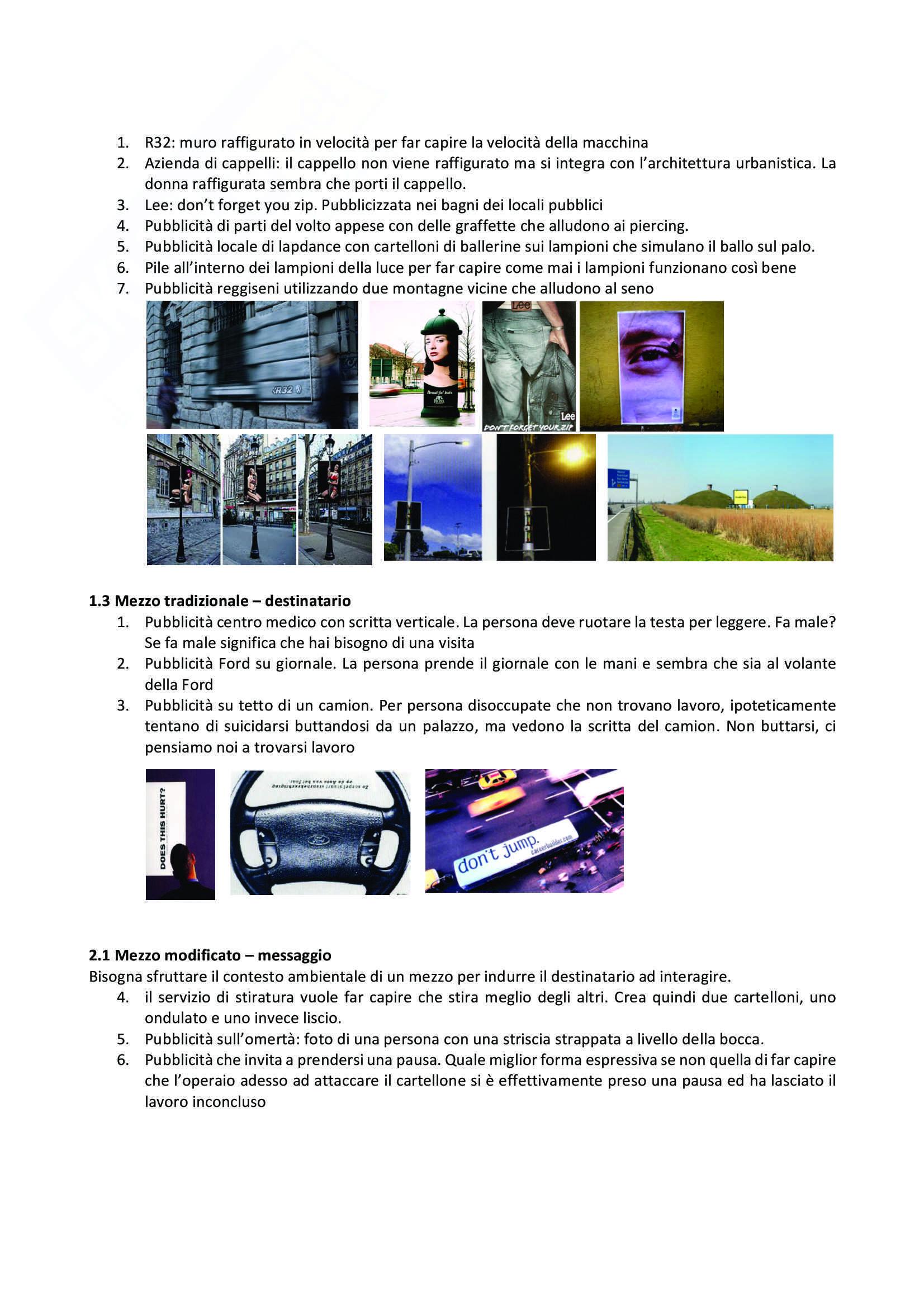 Strategie e tecniche di unconventional marketing Pag. 6