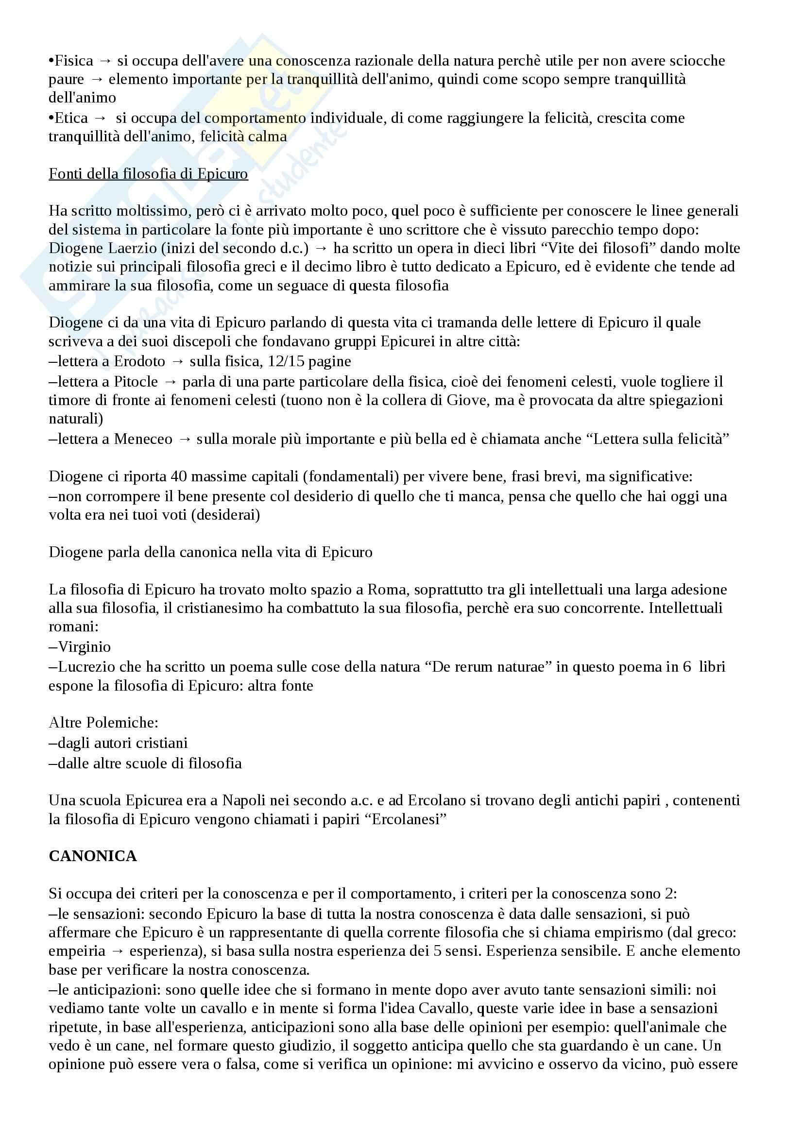 Storia della filosofia - parte istituzionale Pag. 2