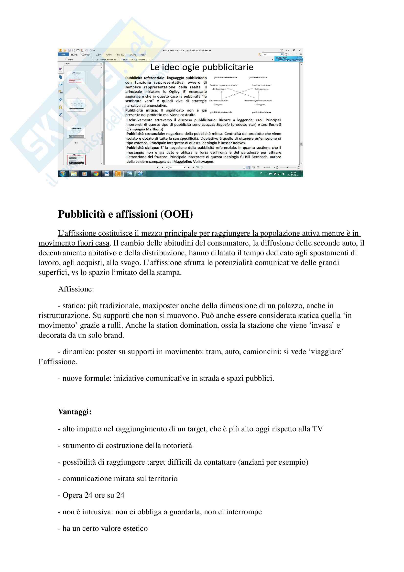 Appunti per esame di storia e linguaggi della pubblicità, prof. Musso, libro consigliato 'Brand Reloading - Patrizia Musso' Pag. 16