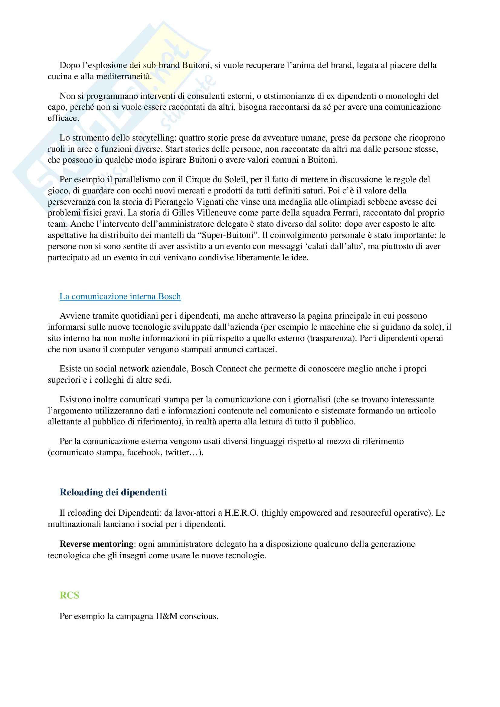 Appunti per esame di storia e linguaggi della pubblicità, prof. Musso, libro consigliato 'Brand Reloading - Patrizia Musso' Pag. 31
