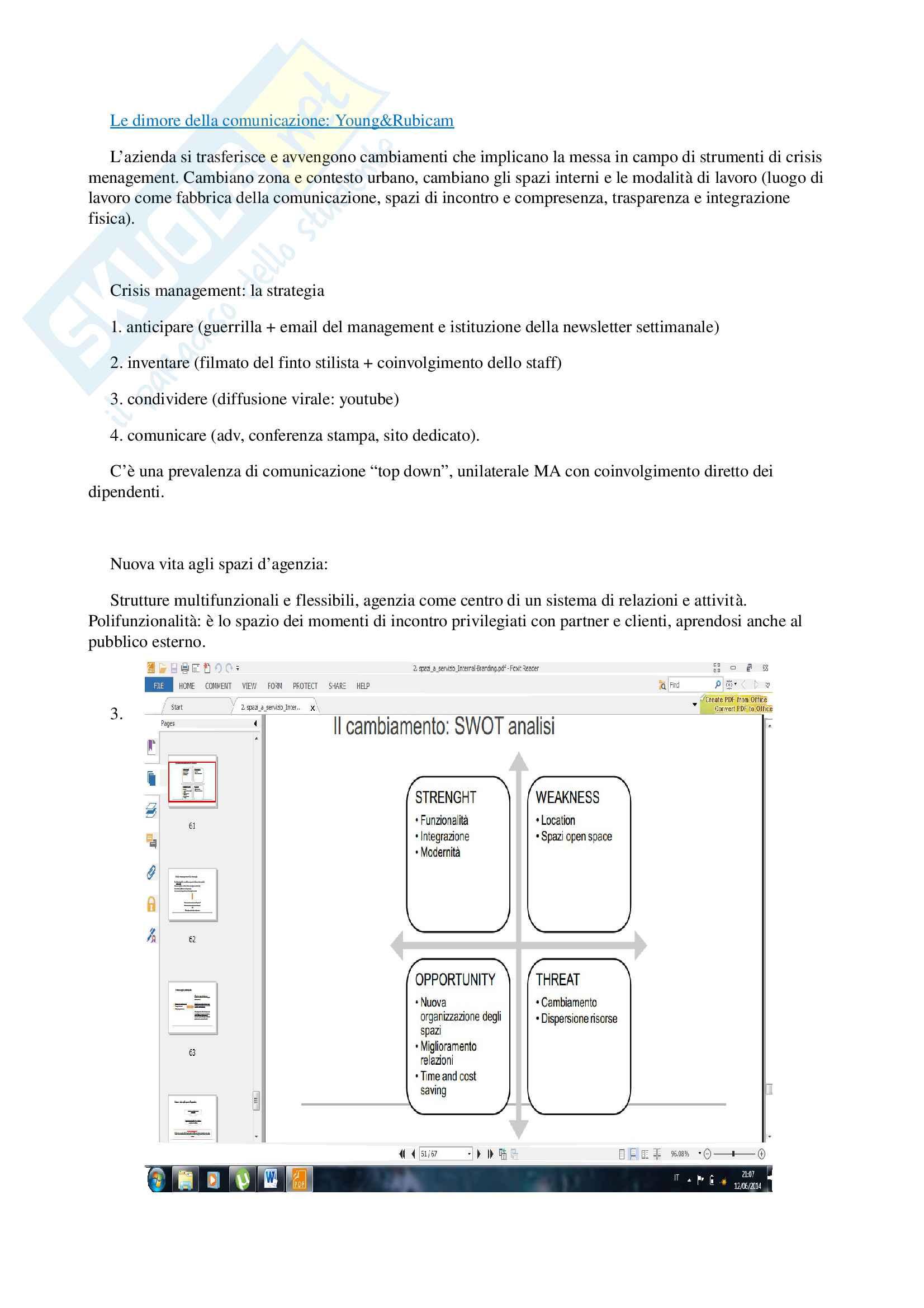 Appunti per esame di storia e linguaggi della pubblicità, prof. Musso, libro consigliato 'Brand Reloading - Patrizia Musso' Pag. 36