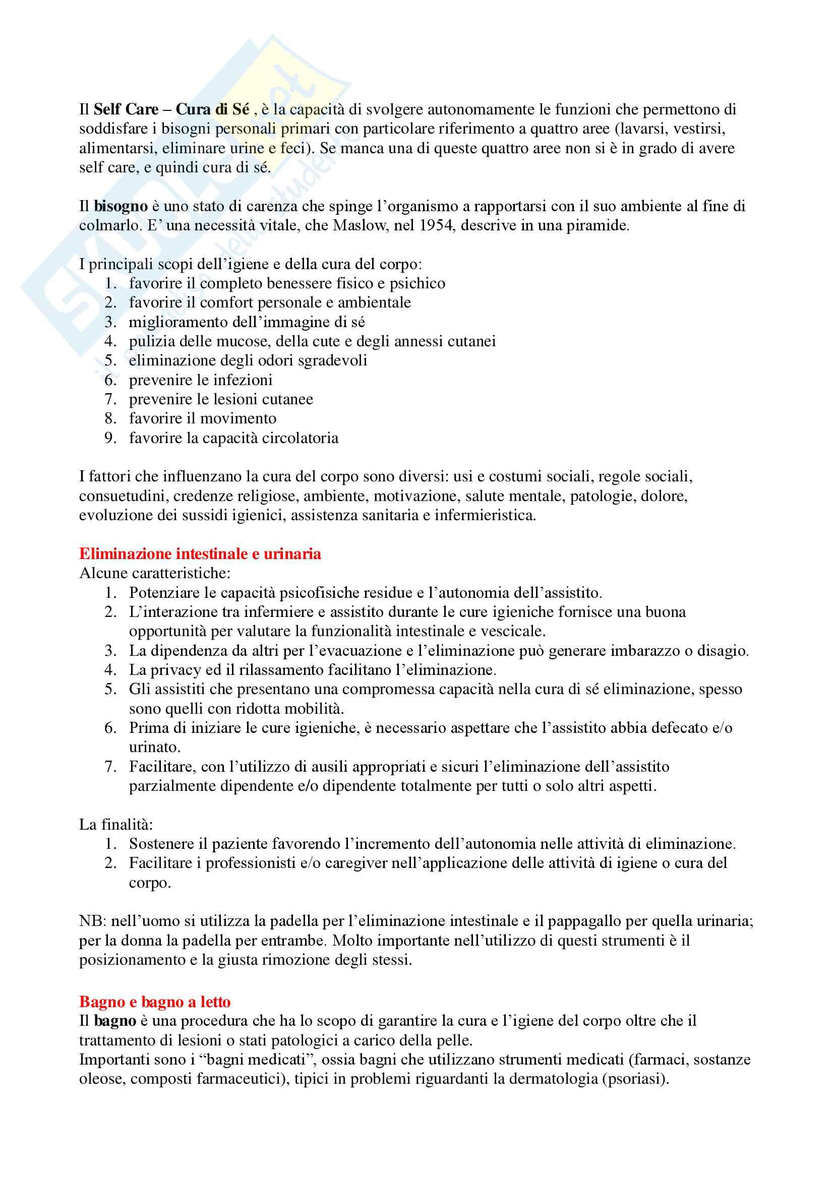 Infermieristica Clinica - Appunti Completi Pag. 6