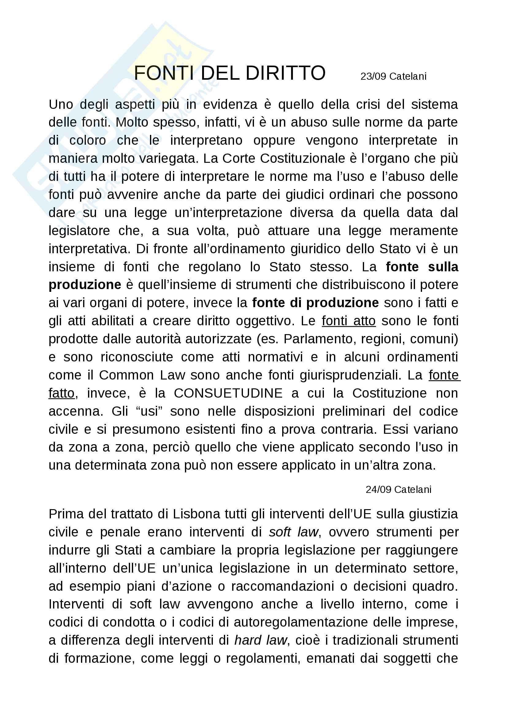 Diritto costituzionale II prof Romboli