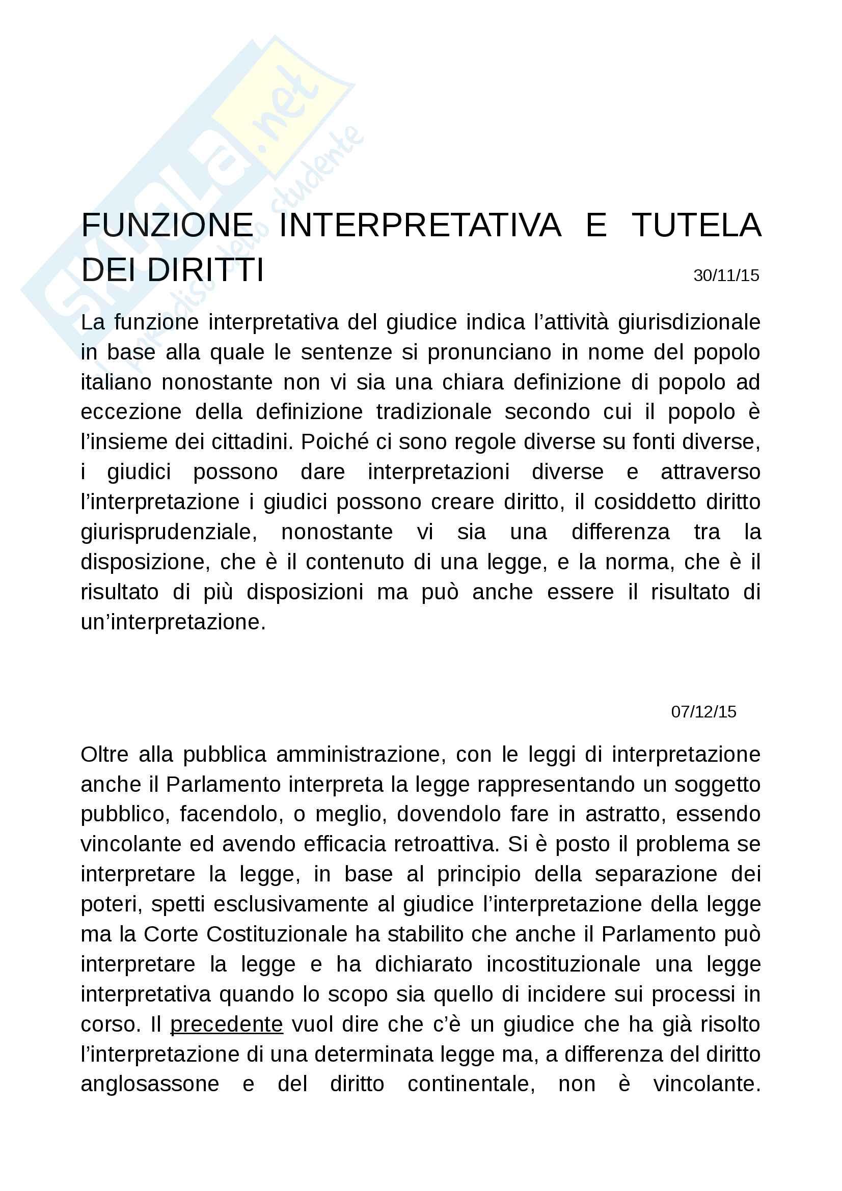 Diritto costituzionale II prof Romboli Pag. 26